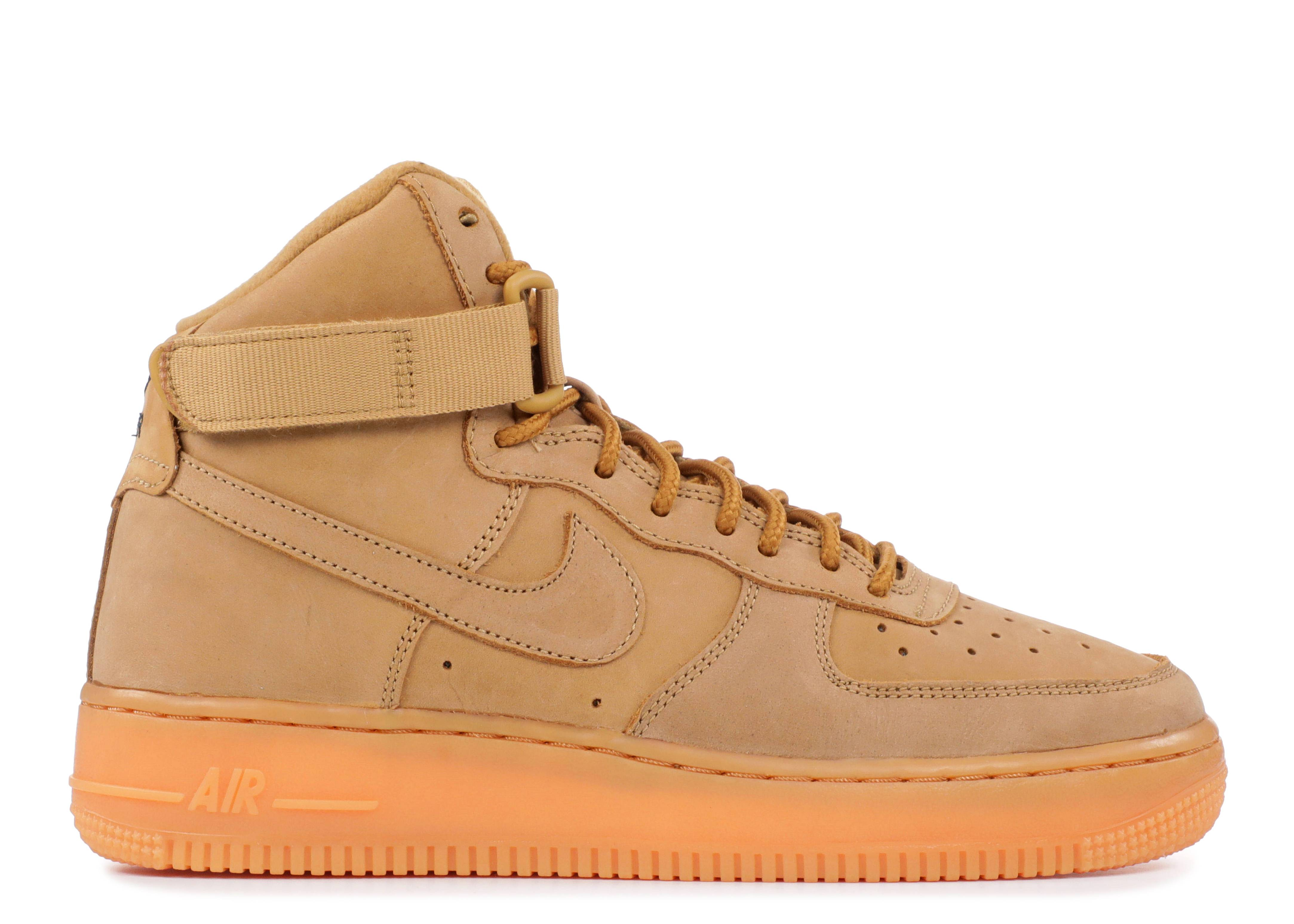 "air force 1 high wb (gs) ""wheat"""