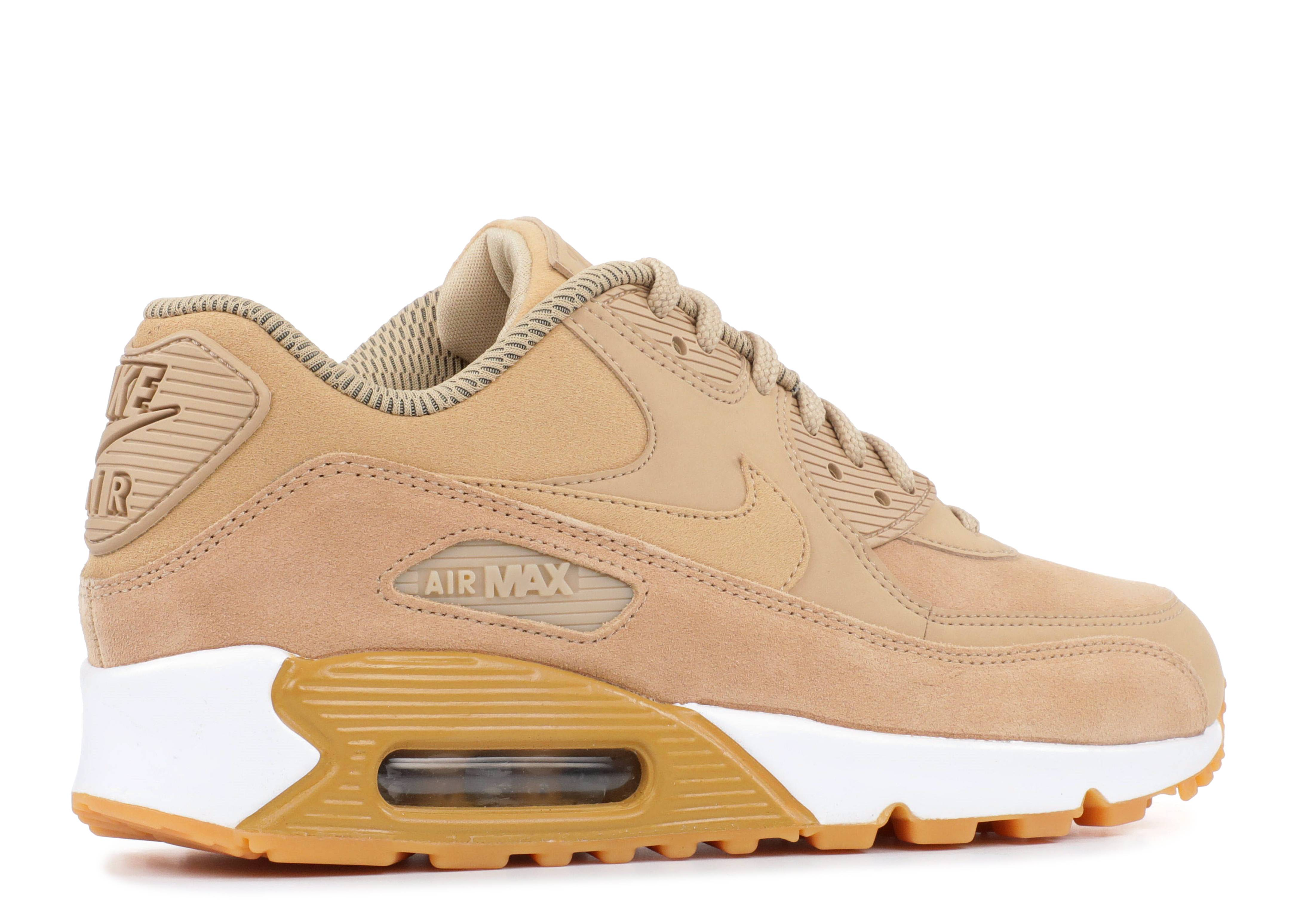 Wmns Air Max 90 SE 'Mushroom' - Nike - 881105 200 - mushroom/gum ...