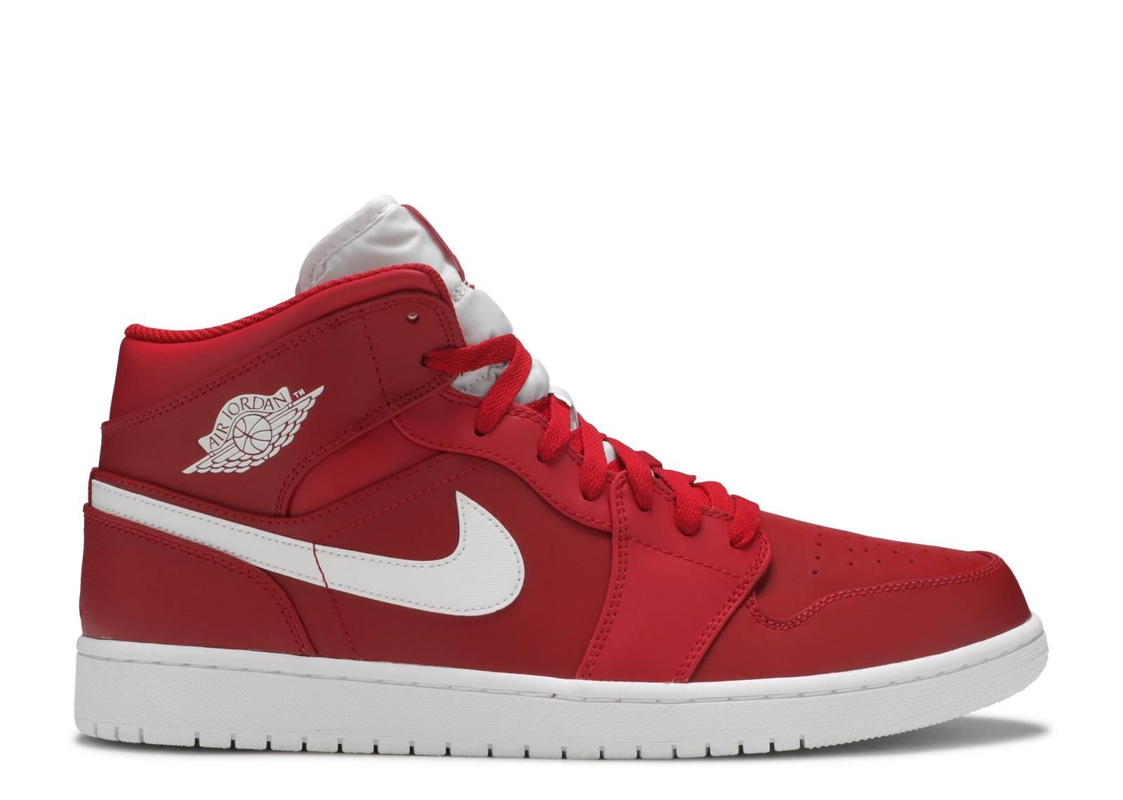 classic style wholesale price coupon codes Air Jordan 1 Mid - Air Jordan - 554724 600 - gym red/white-white ...