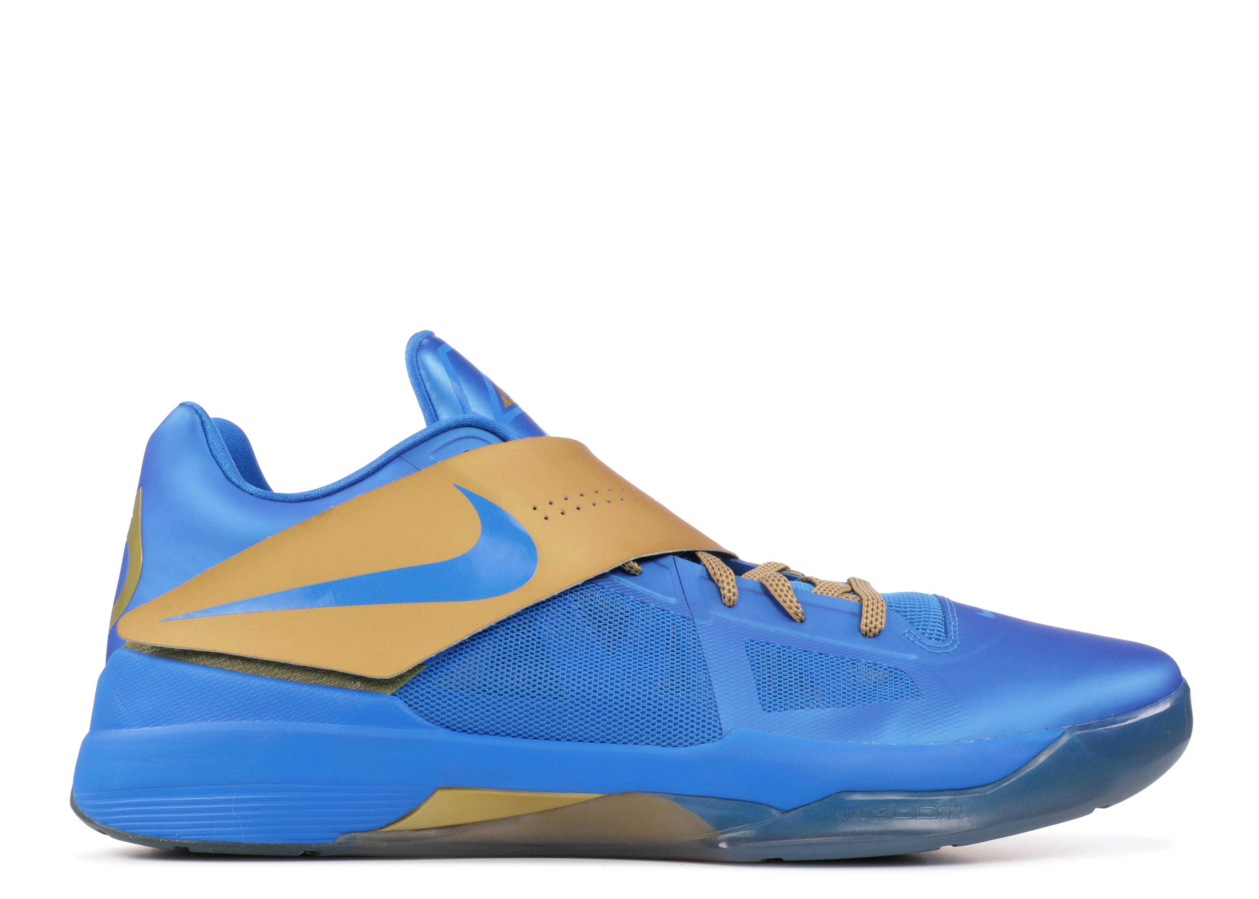 8d568ffc8e78b7 Nike Zoom Kd 4 Pe - Nike - mnbskt 985 316337 - photo blue metgold-togagne