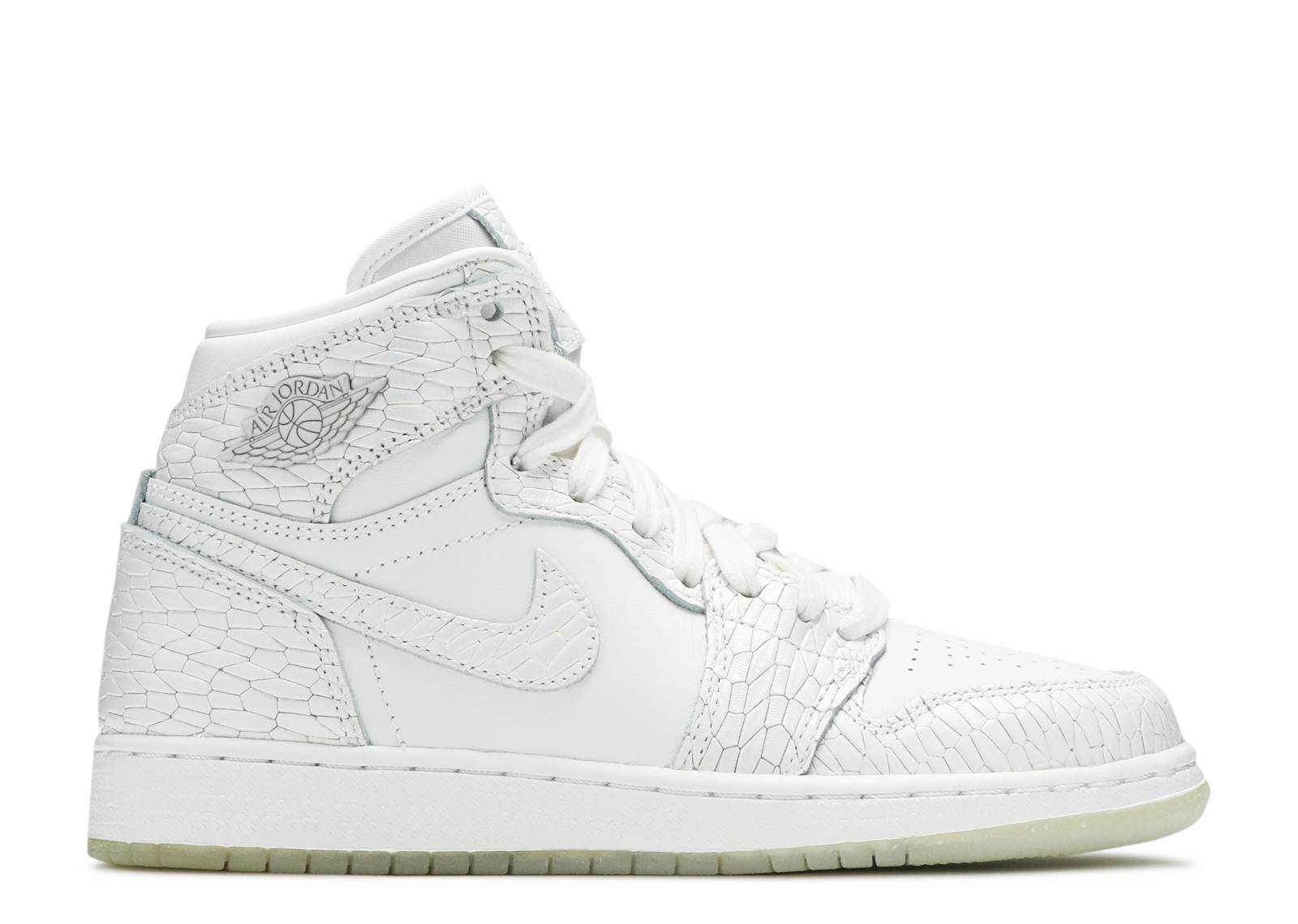 Air Jordan 1 Retro Hi Prem Hc Gg - Air Jordan - 832596 100 - white white - pure  platinum  91f7fbd38
