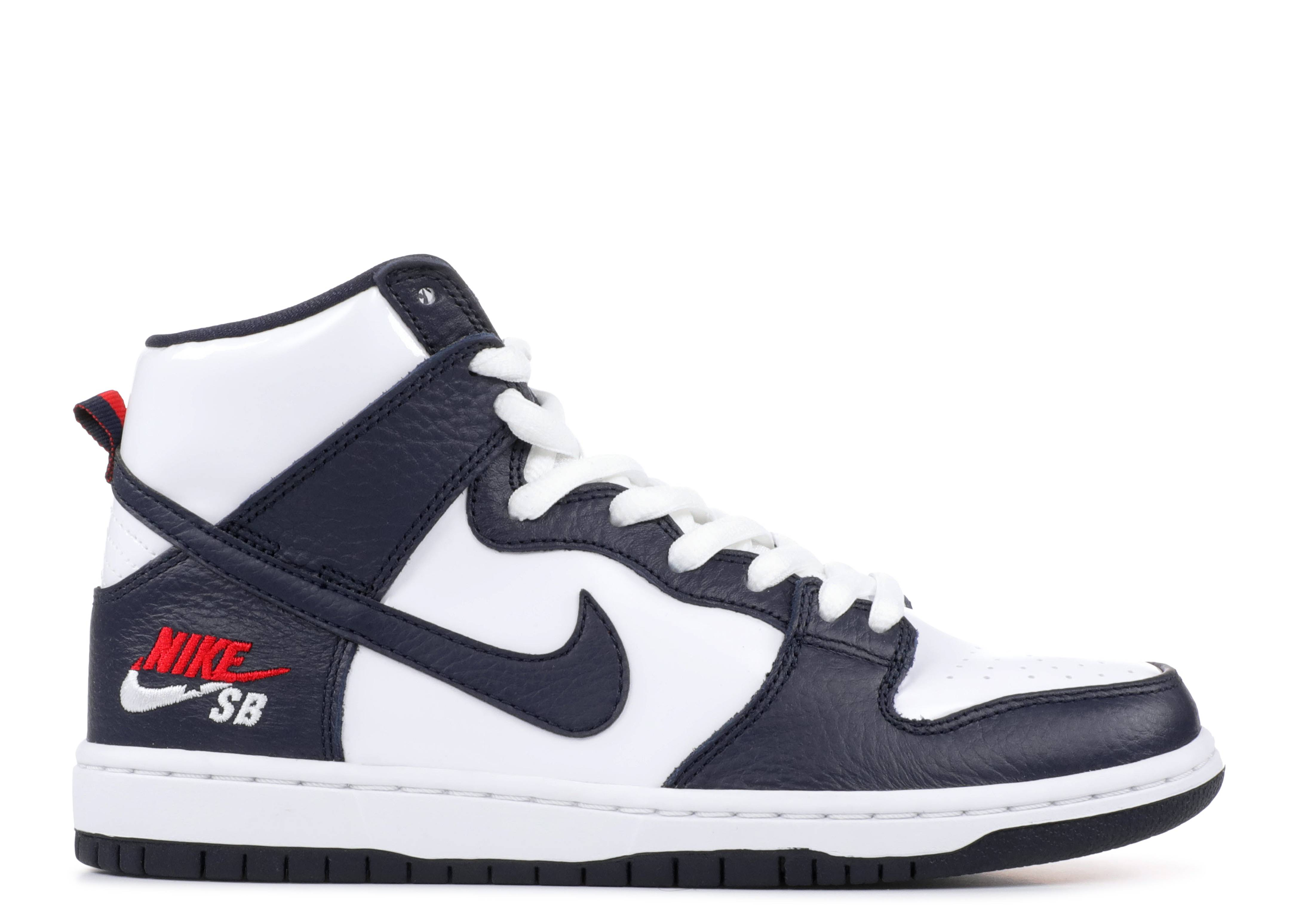 nike sb zoom dunk high pro nike 854851 441 obsidian obsidian white flight club