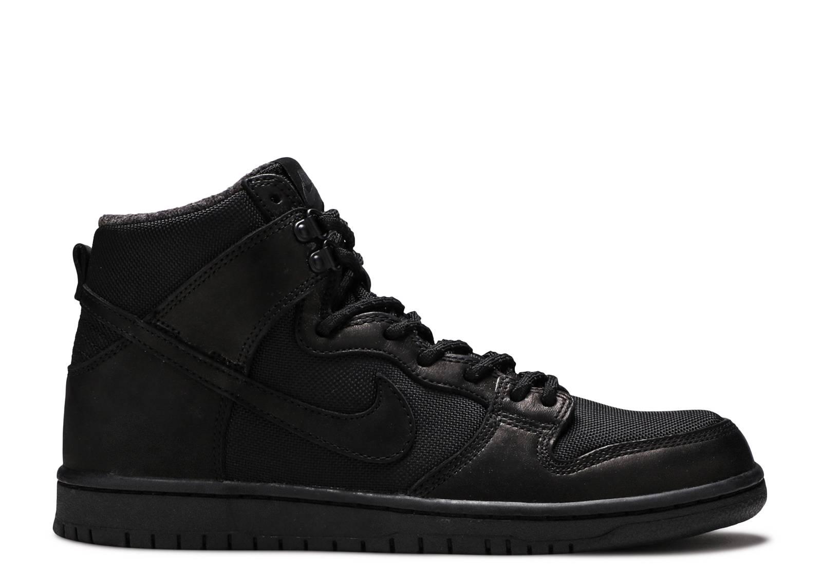 Nike SB Dunk Hi Pro Bota Chaussure - black black BLovOW21ba