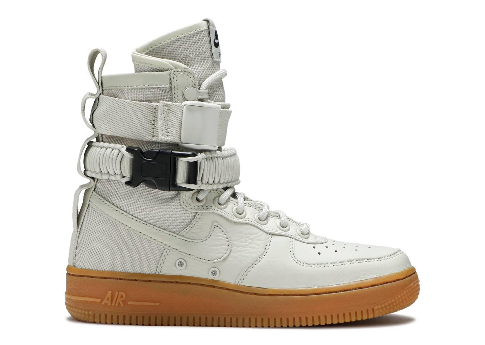 classic fit 9f50d 9535b W Sf Af1 - Nike - 857872 004 - light bone light bone   Flight Club