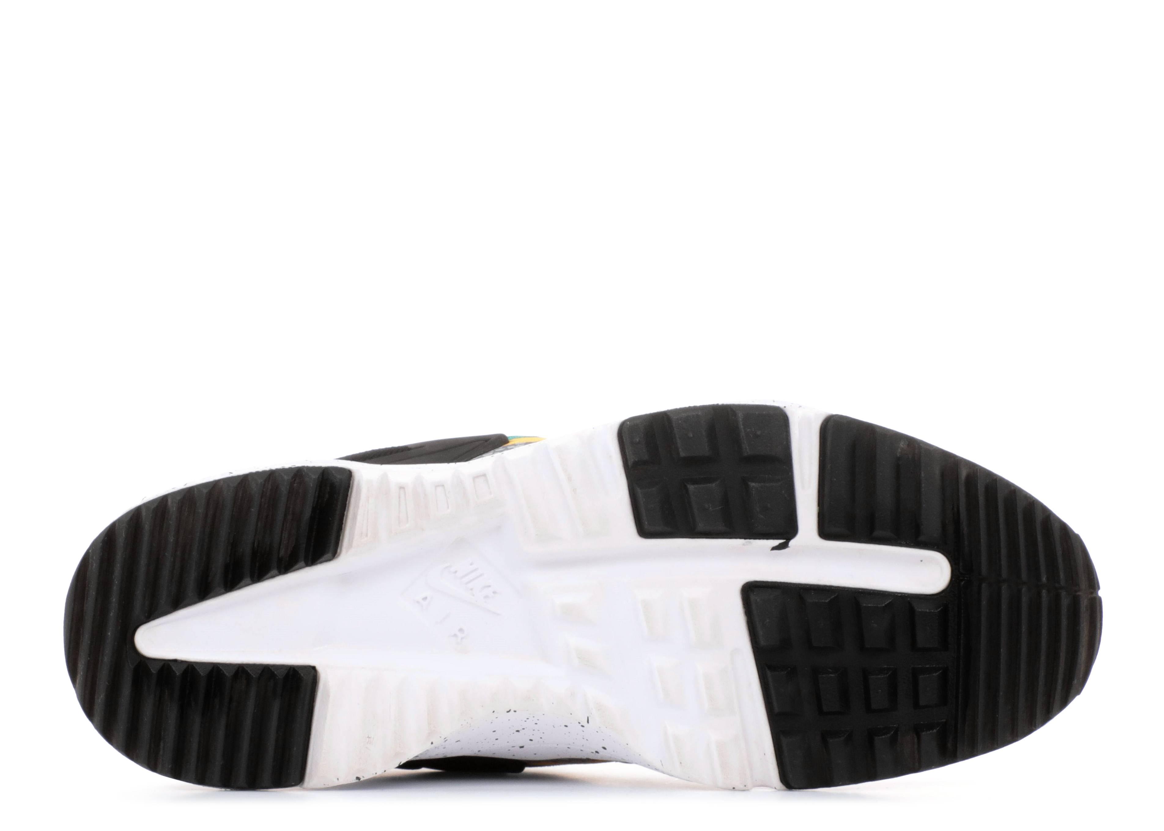 094d60a88115b Air Huarache Utility Premium - Nike - 806979 103 - white black-emerald green -white