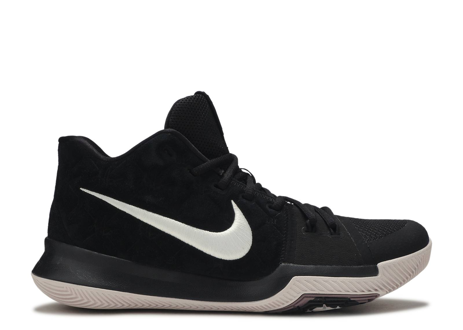 7fcbc3bc3198 Kyrie 3 - Nike - 852395 010 - black white - silt red