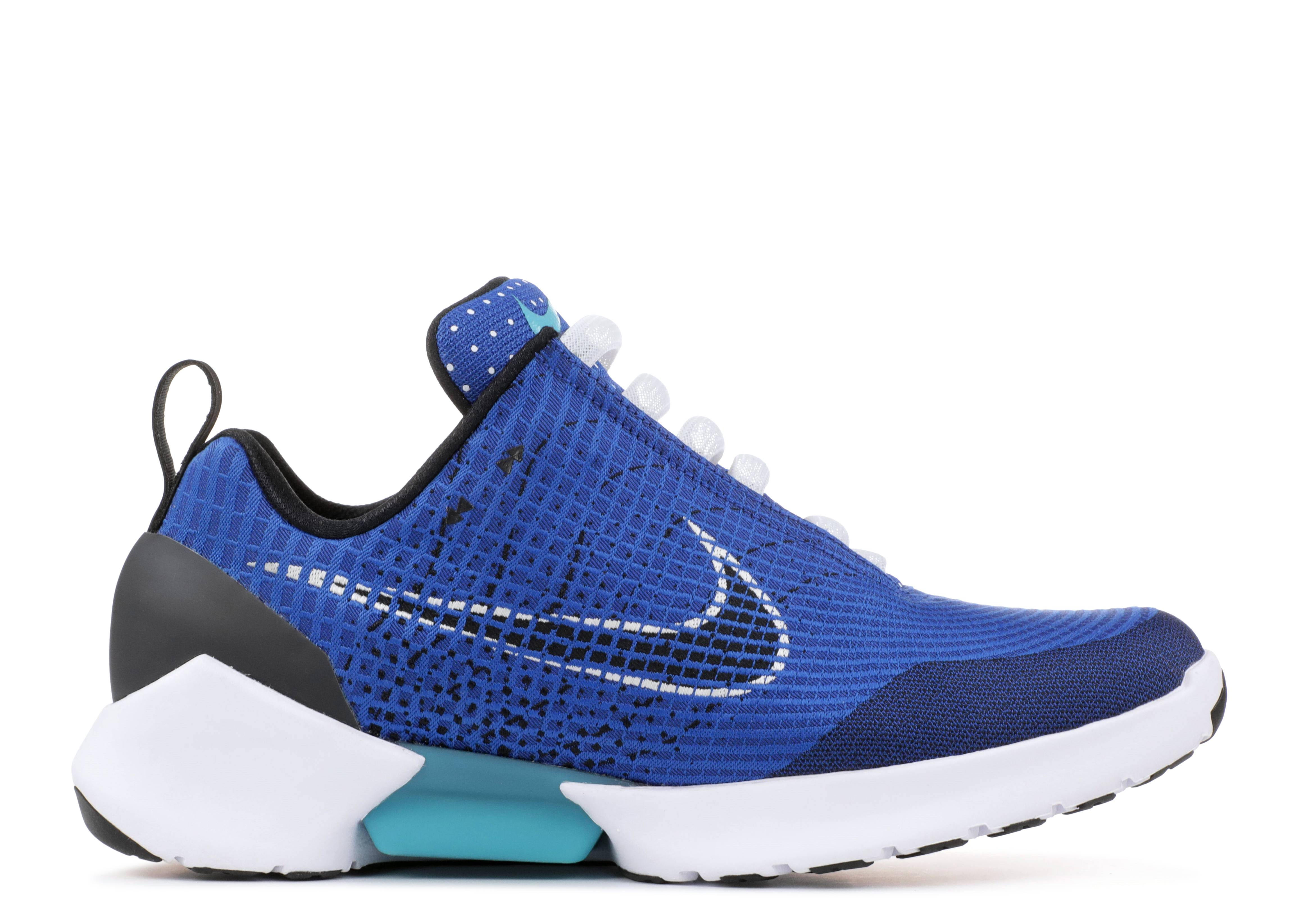 301d16d6707c Nike Hyper Adapt 1.0 - Nike - 843871 400 - sport royal black-white ...
