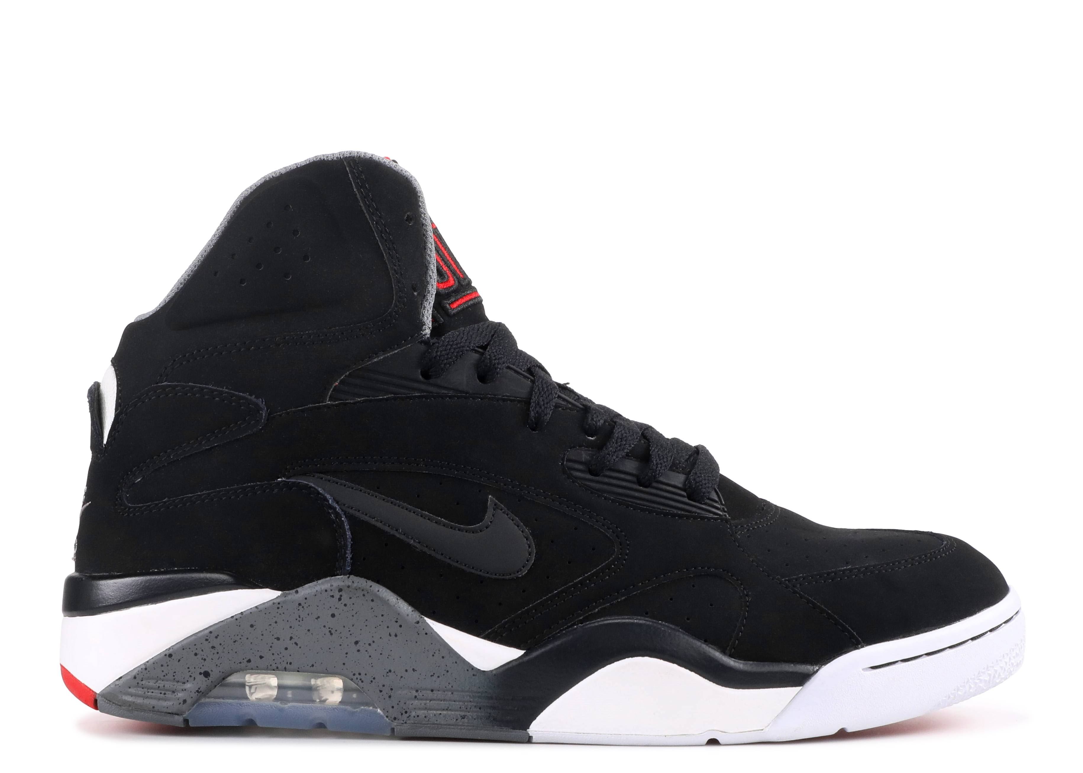 premium selection 8302e 76267 Nike Air Force 180 Mid - Nike - 537330 002 - black/cool grey-university red  | Flight Club