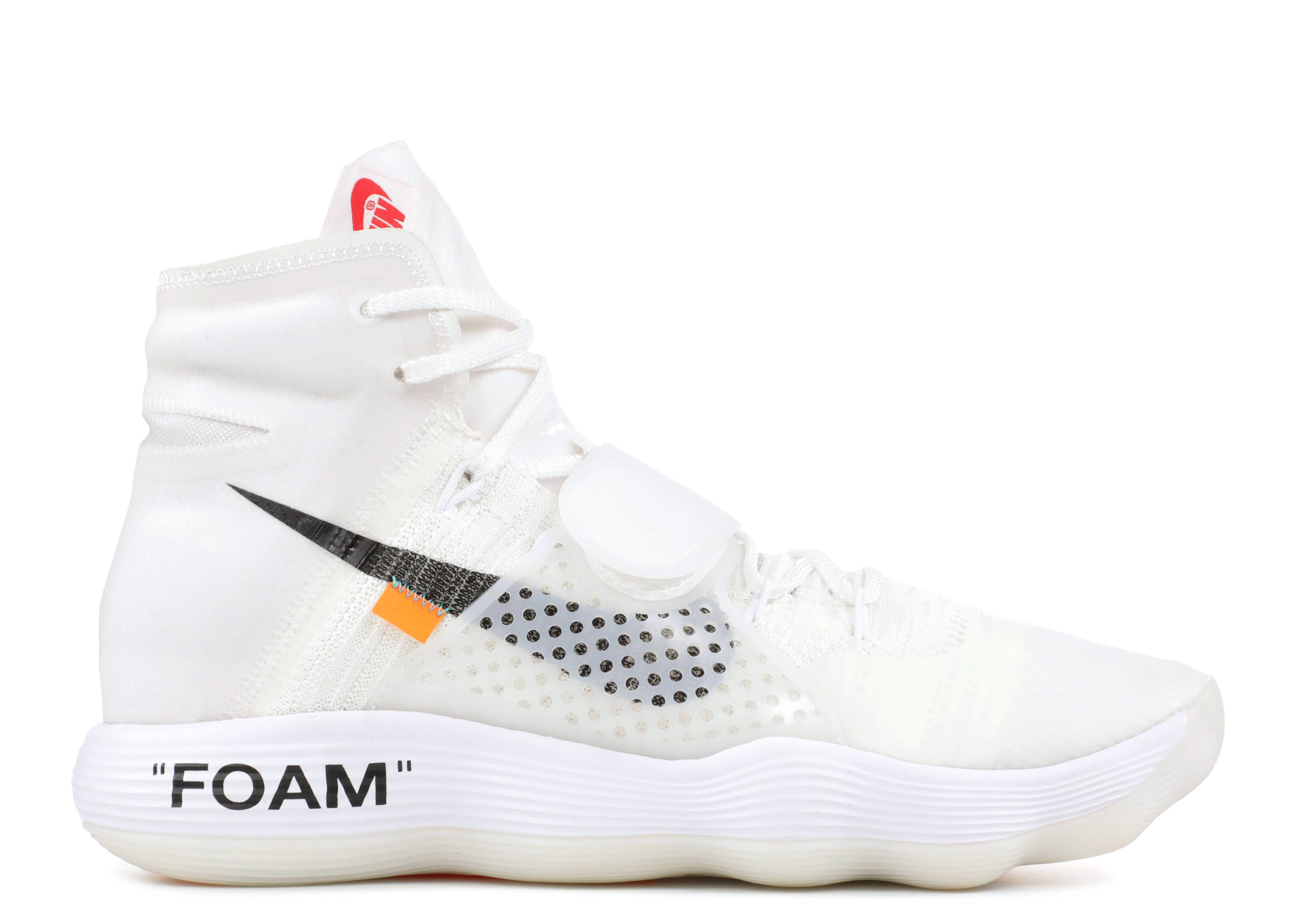 "the 10: nike air hyperdunk flyknit ""off white"""