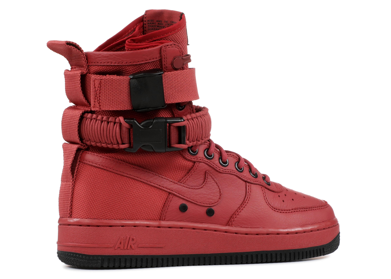 0ddc799c77fe W Air Force 1 Sf - Nike - 857872 600 - cedar cedar-black