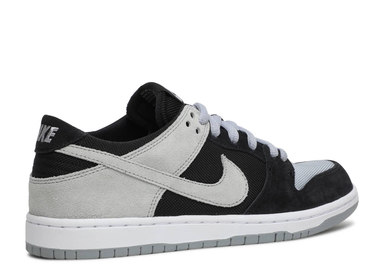 Nike Sb Zoom Dunk Low Pro - Nike - 854866 001 - black wolf grey ... 264daea2d6ea