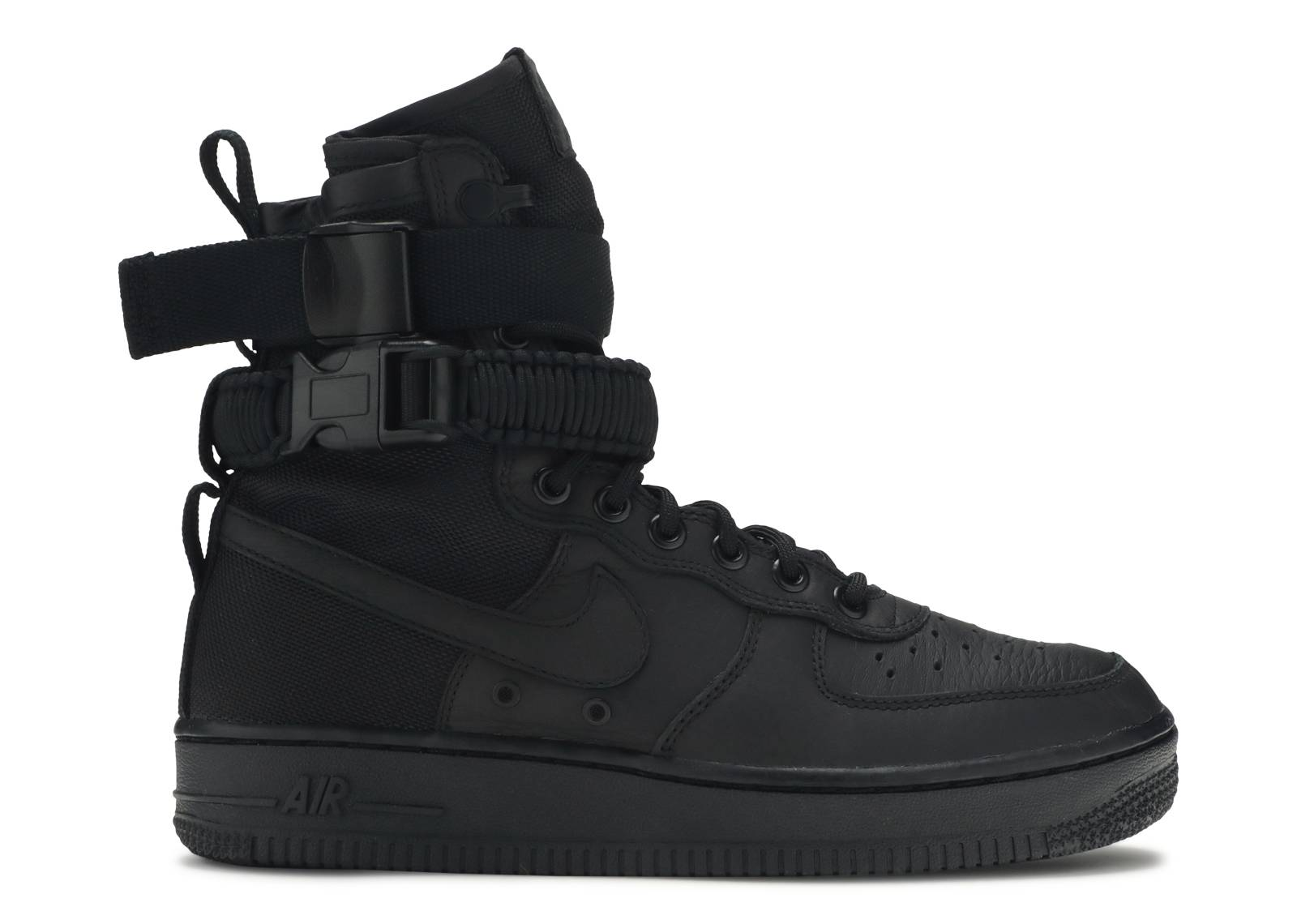 new product 53af1 a6b38 W Sf Af1 - Nike - 857872 002 - black black-black   Flight Club