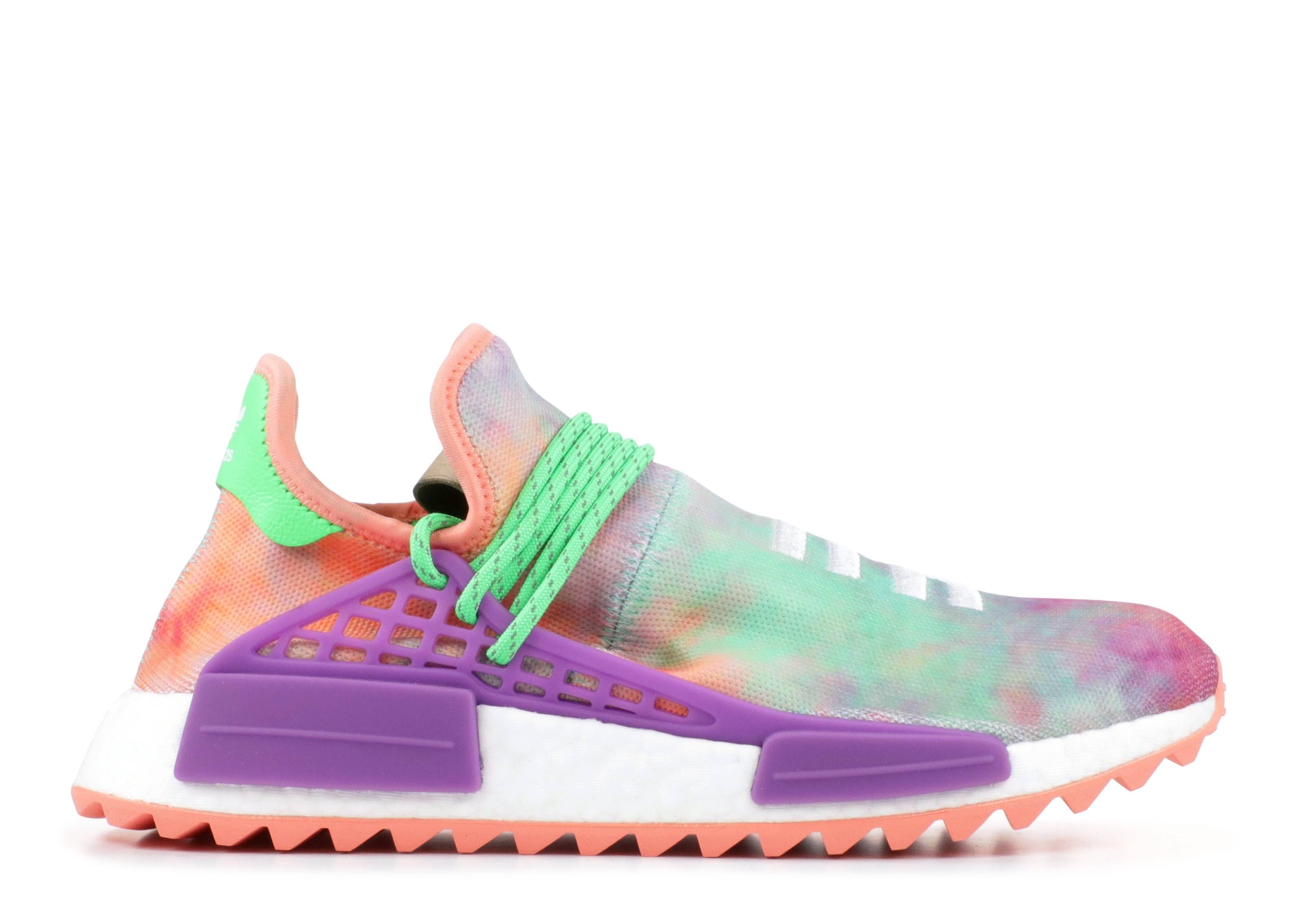 adidas human race violet