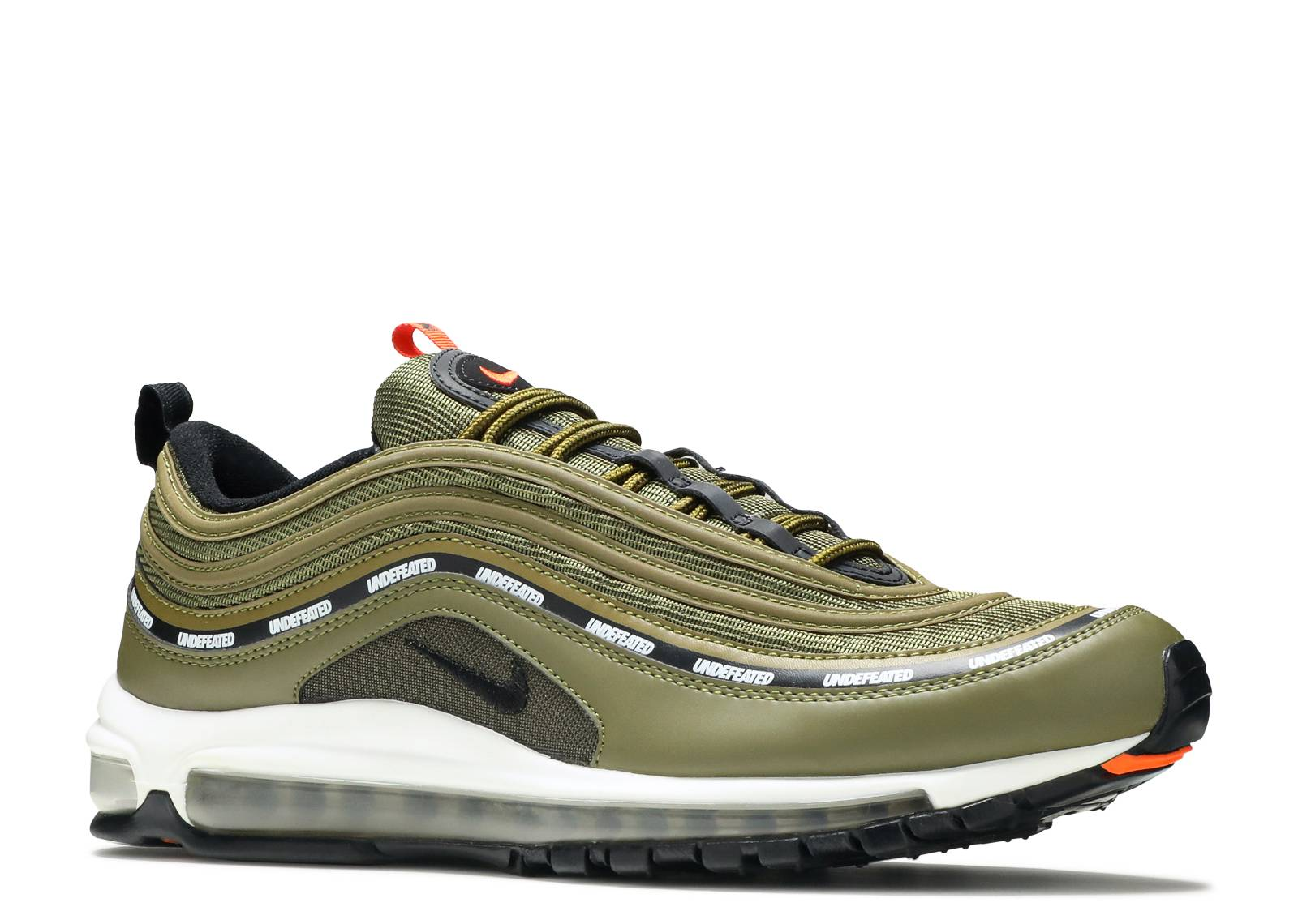 Hot Selling Nike Air Max 97 UL '17 Olive Green White Women's Men's Running Shoes Trainers DC009692
