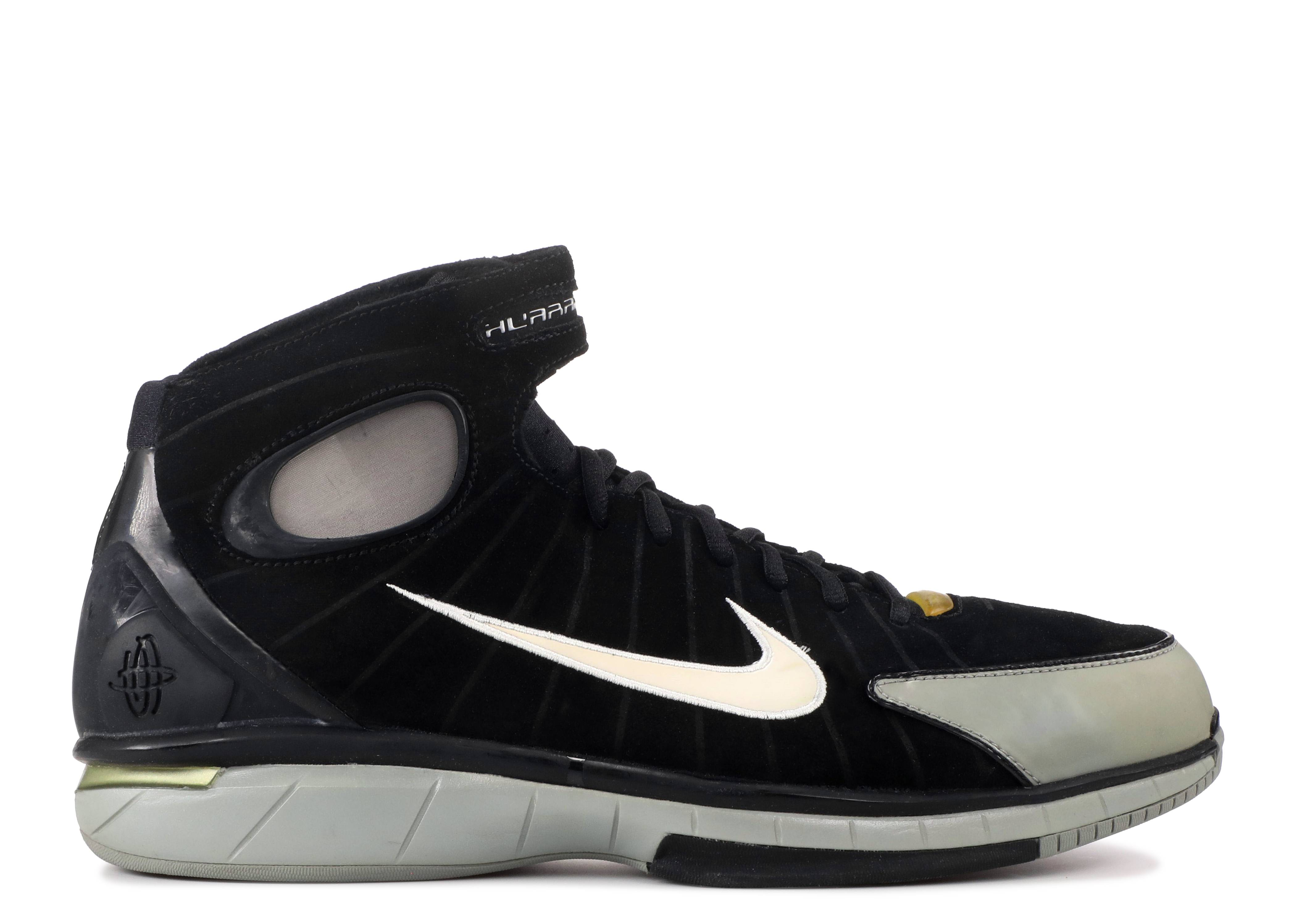 e0d35d29e248 Air Zoom Huarache 2k4 - Nike - 308475 012 - black  white-metallic silver