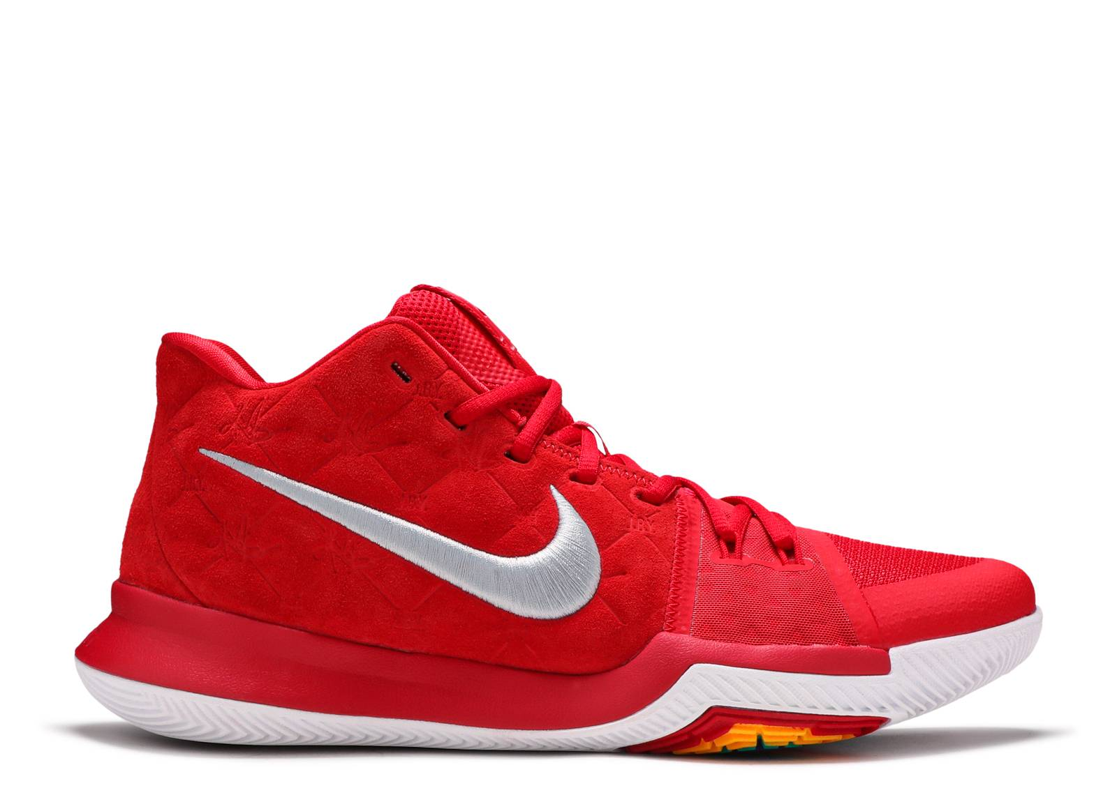 56457e11744f Kyrie 3 - Nike - 852395 601 - university red university red-wolf ...