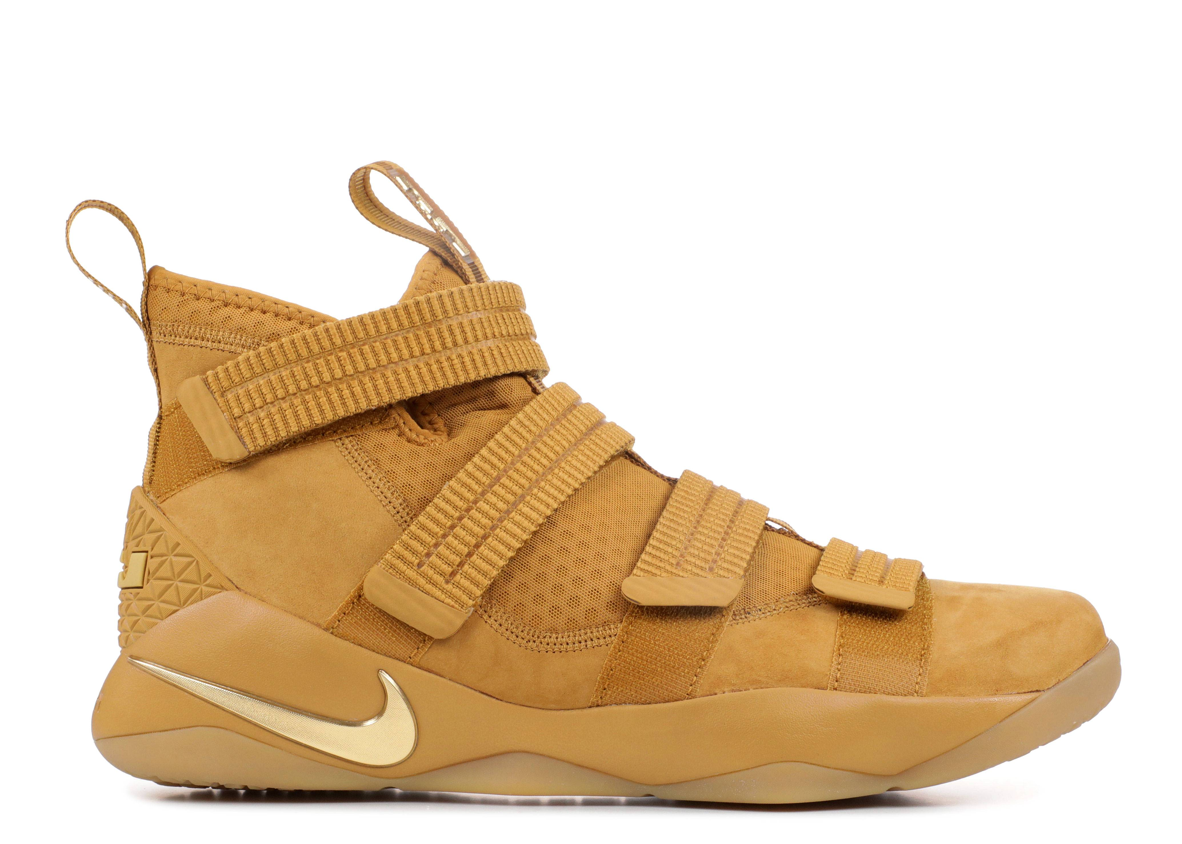 "lebron solider xi sfg ""Wheat Gold"""