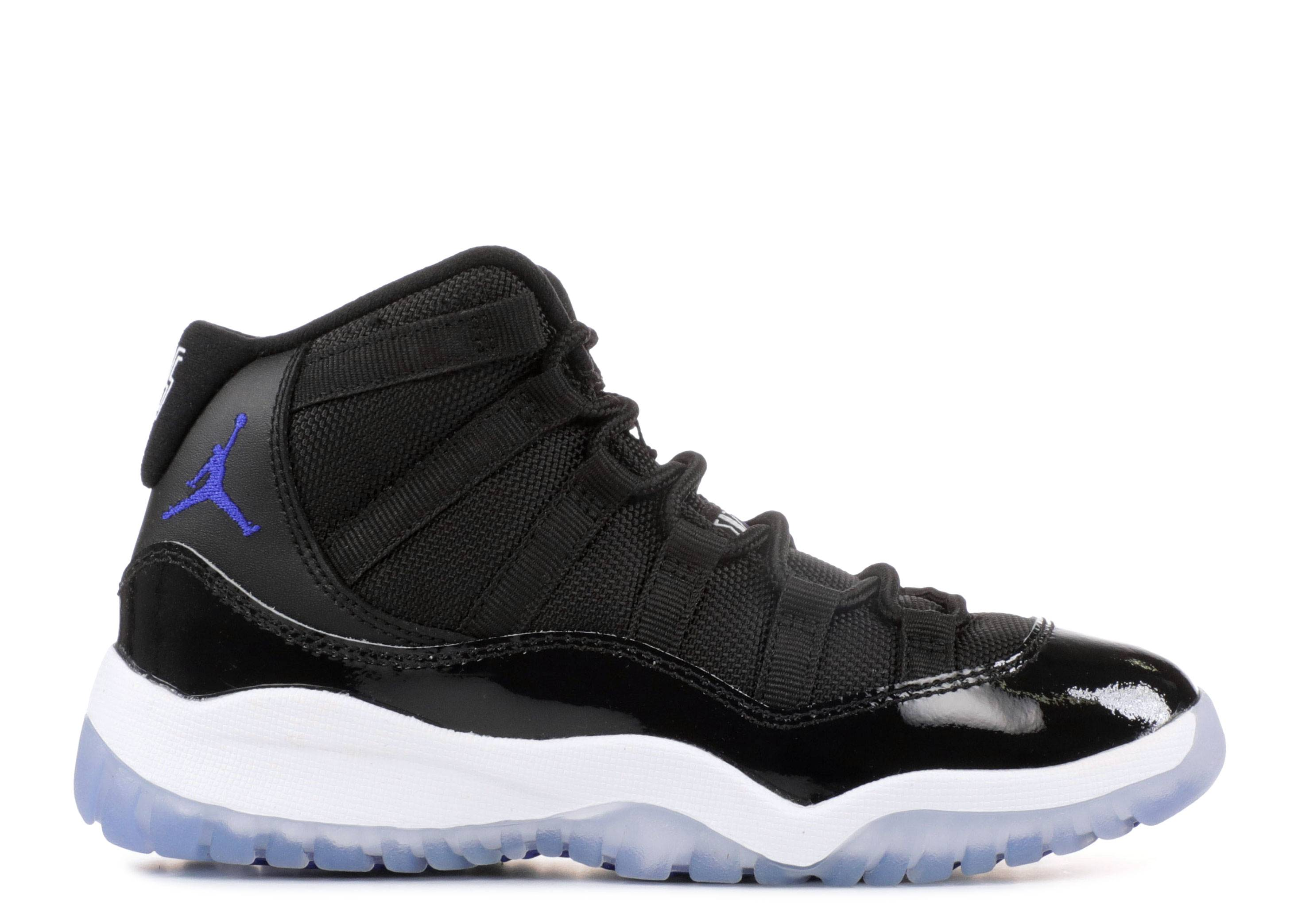 "jordan 11 retro bp (ps) ""space jam"""
