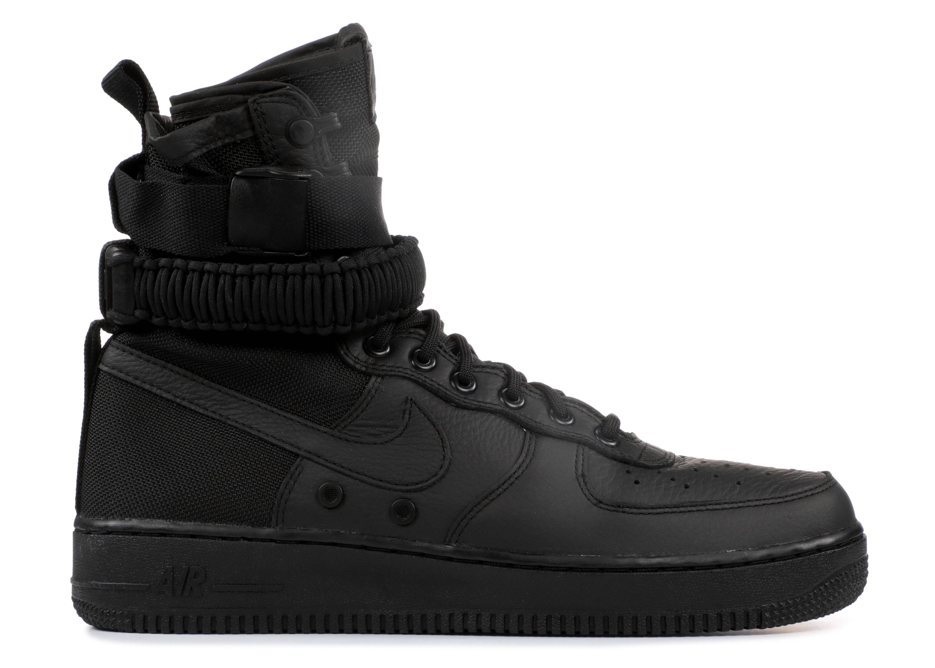Nike Men's SF Air Force 1 High Shoes  NEW AUTHENTIC Black 864024-003