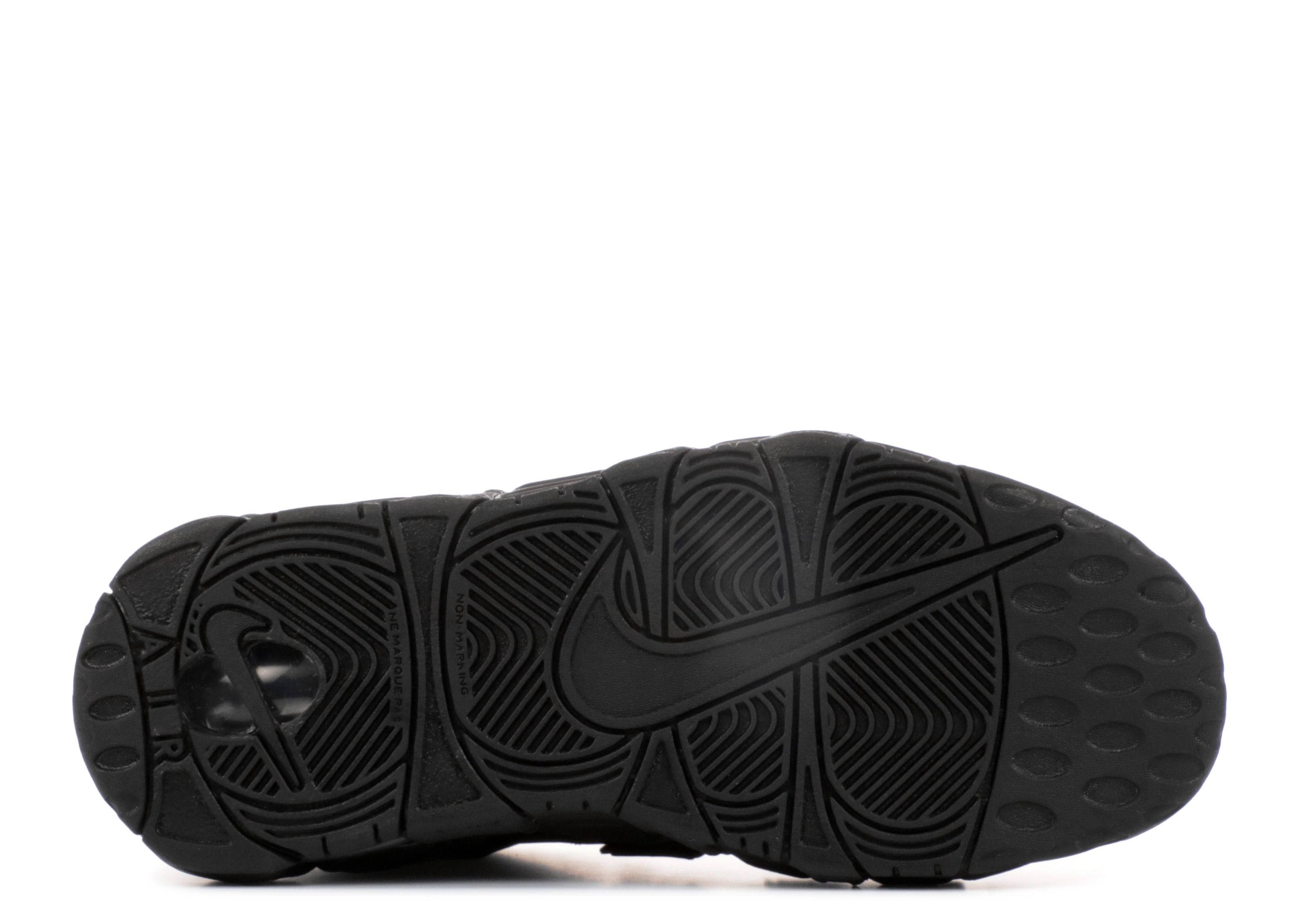 Nike Air More Uptempo Se (gs) - Nike - 922845 001 - black   black ... 4a6aed6a9ab4