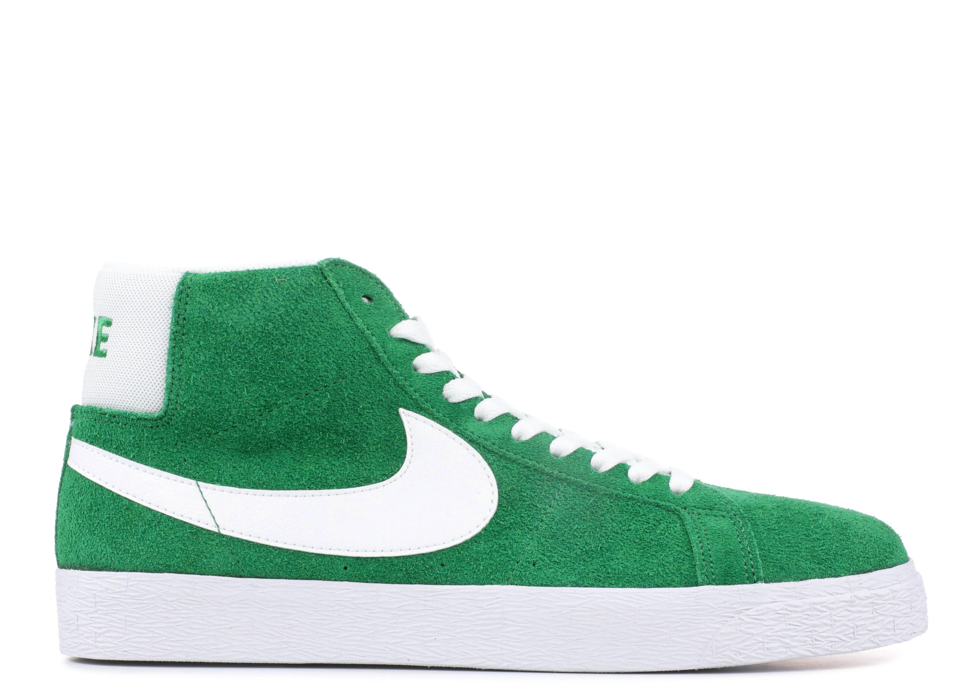Nike Mid Mens Shoes Green The Blazer Sb