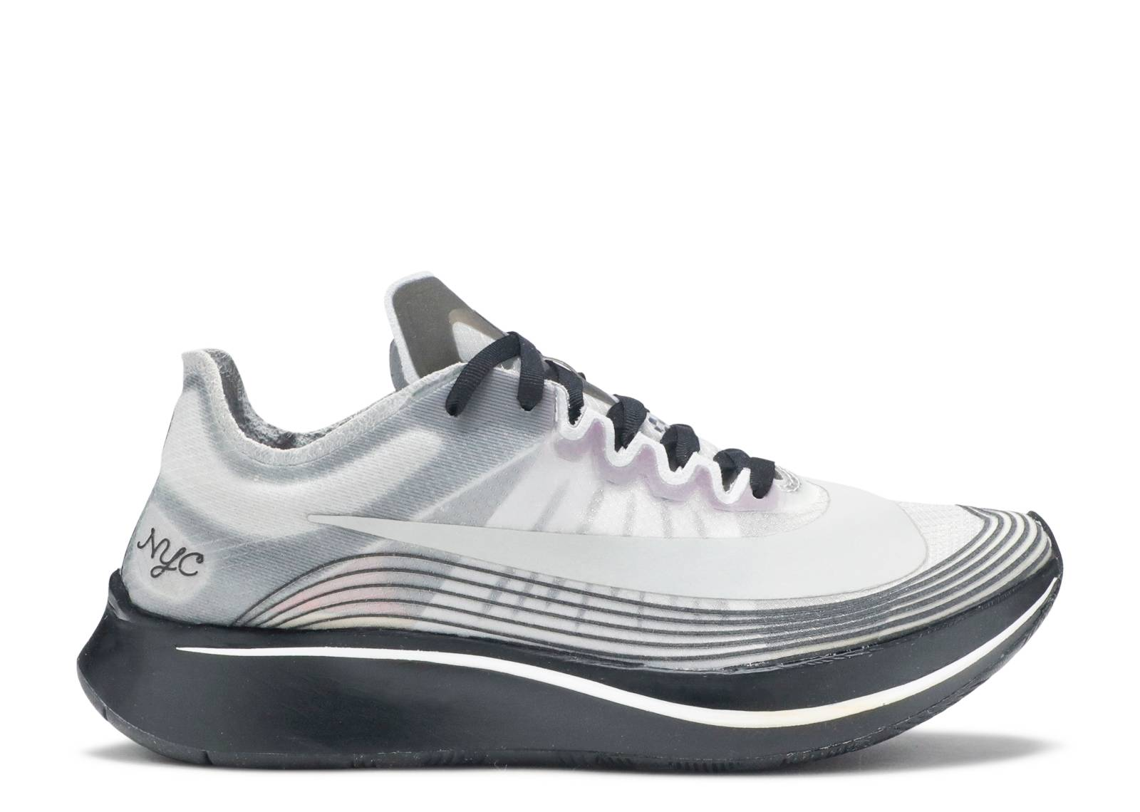 NIKELAB ZOOM FLY NYC AH5088-001 Black White Black
