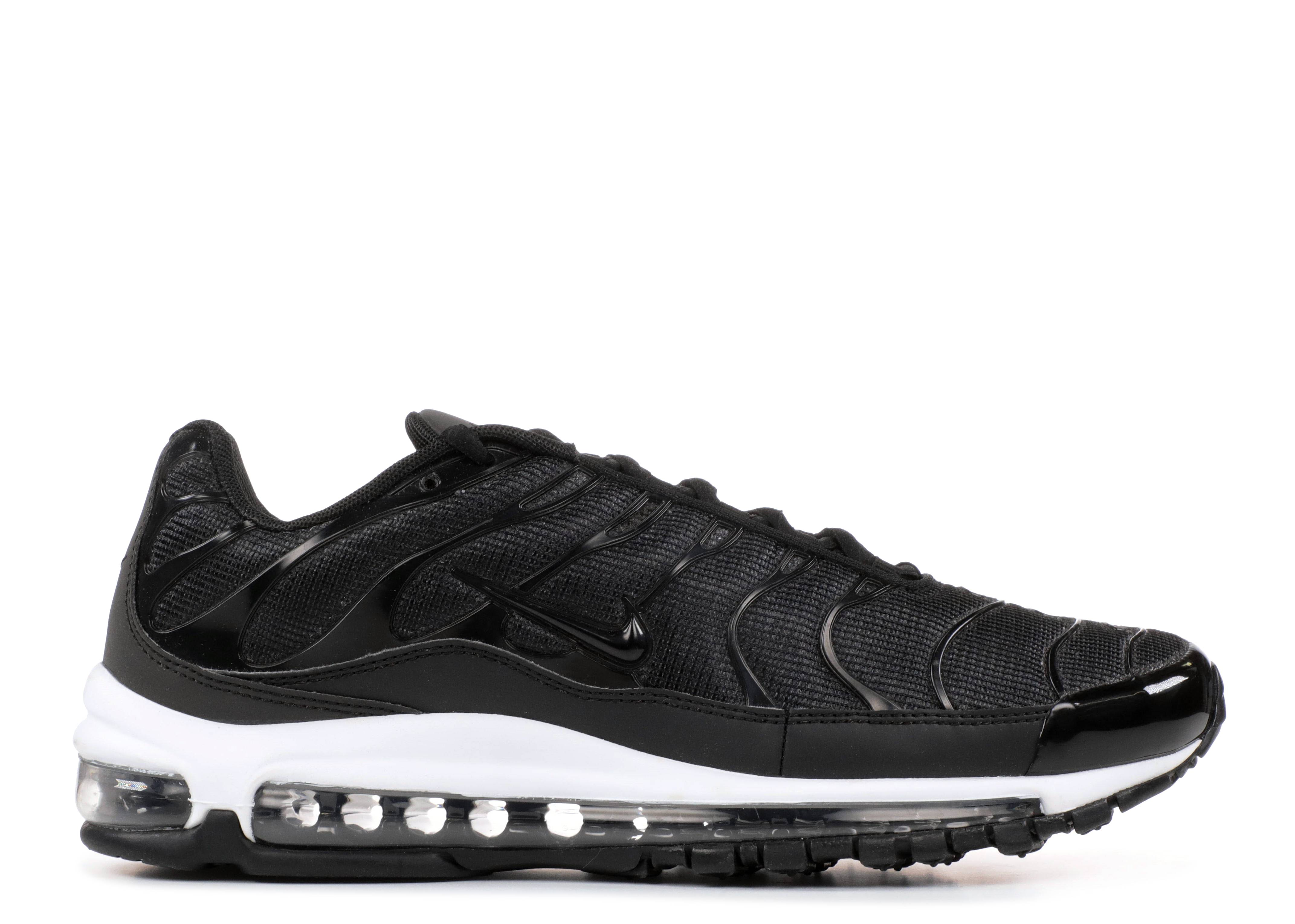 f7c488a08eb921 Air Max 97 plus - Nike - ah8144 001 - black anthracite-white ...