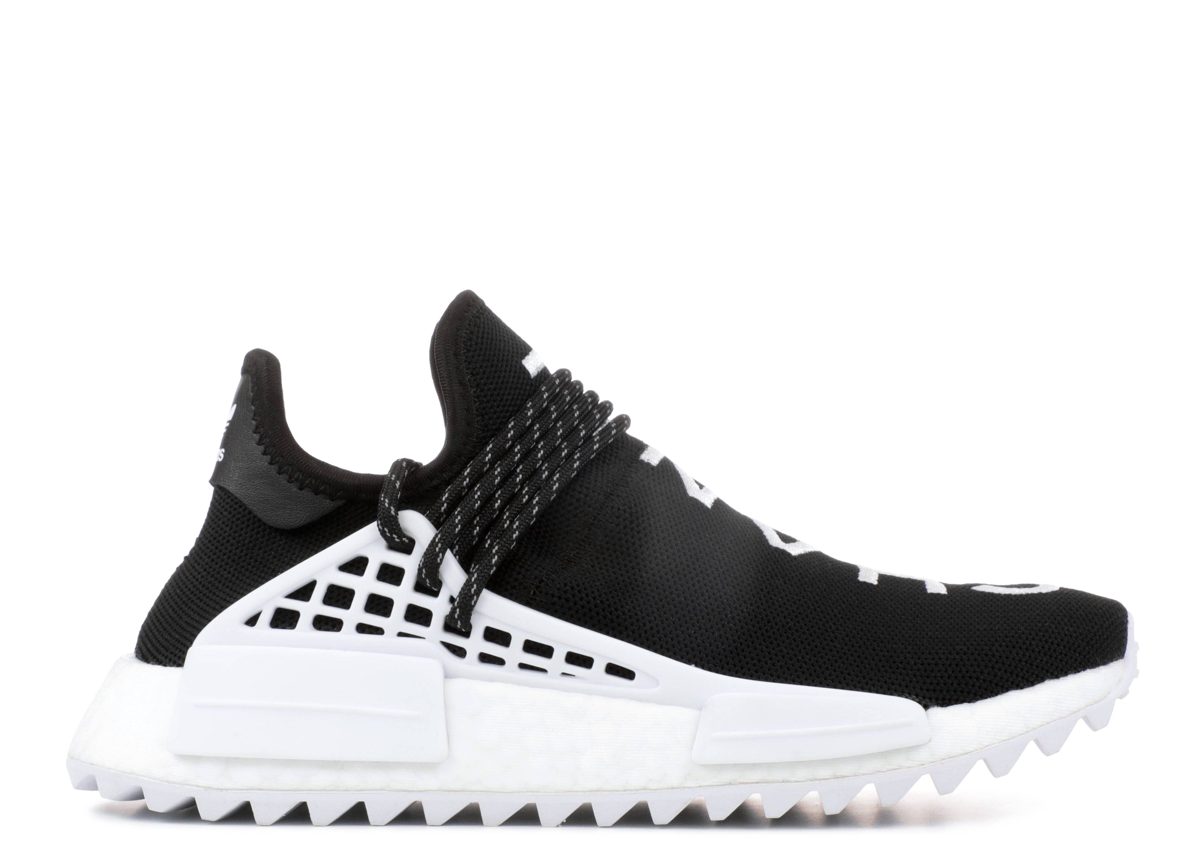 Equivalente rodillo cáncer  Pharrell X Chanel X NMD Human Race Trail 'Chanel' - Adidas - D97921 - core  black/running white | Flight Club