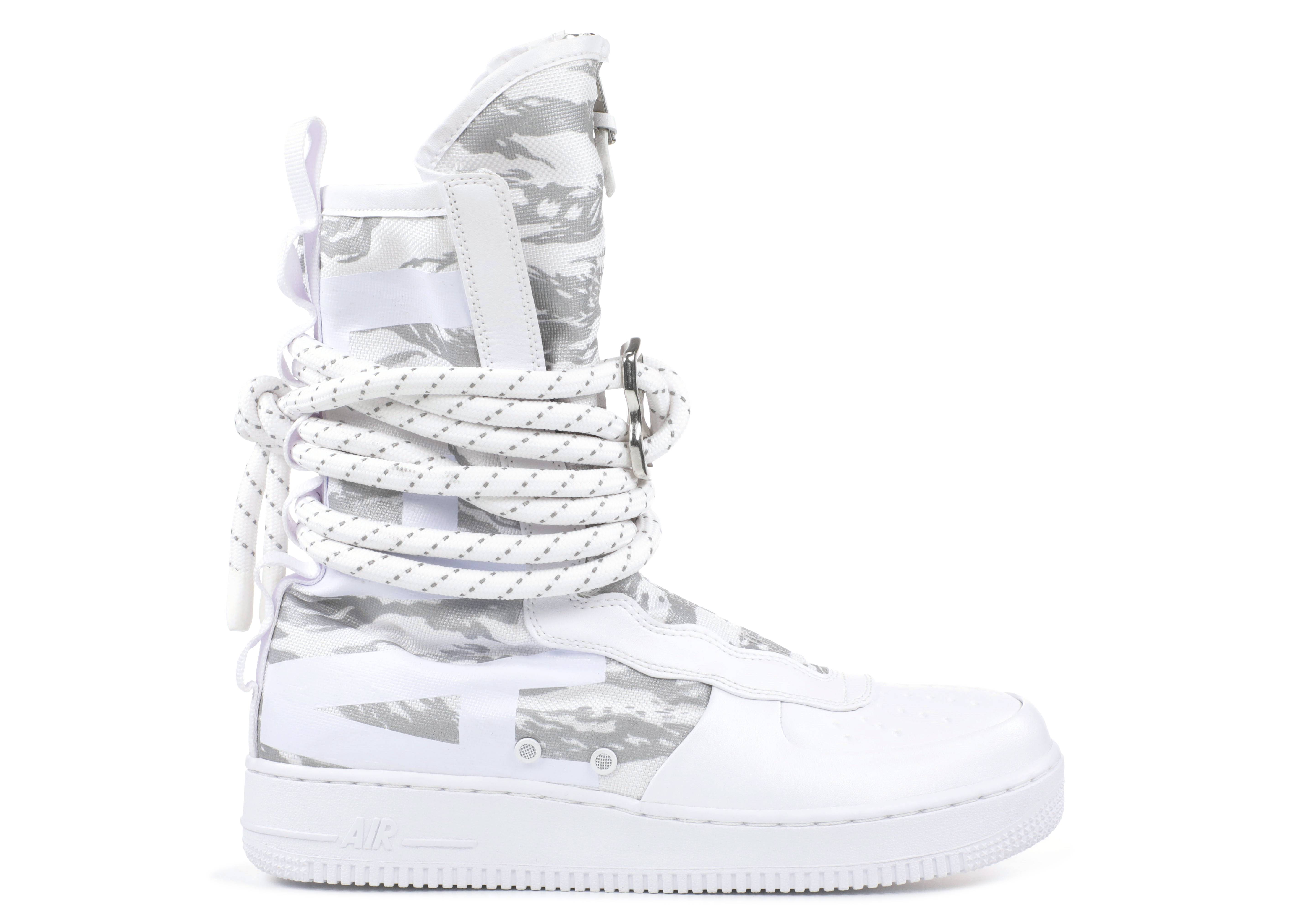 The Nike Special Field Air Force 1 High Winter Camo is