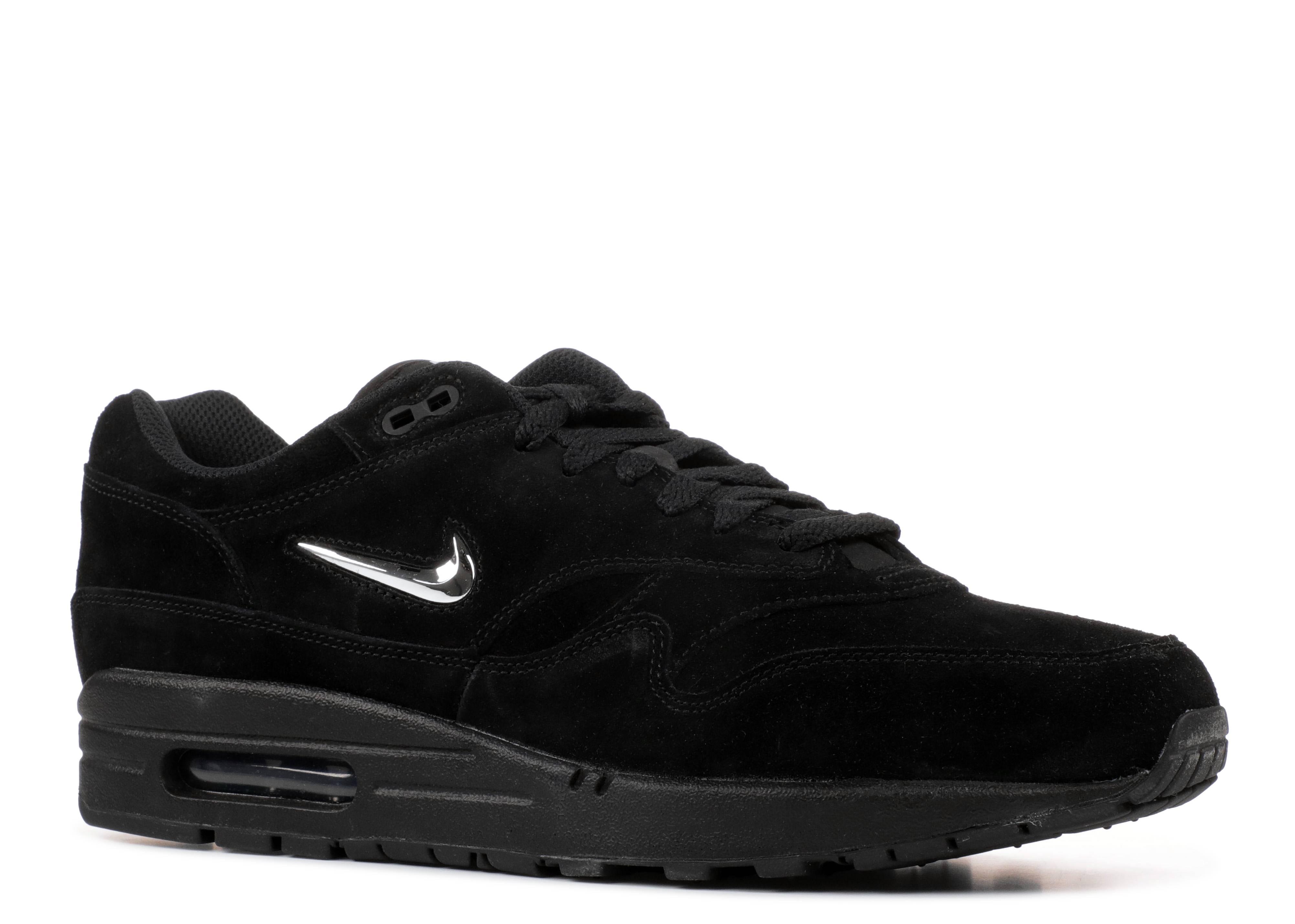 best cheap 99a80 7ef45 Air Max 1 Premium Sc - Nike - 918354 005 - black chrome-black   Flight Club