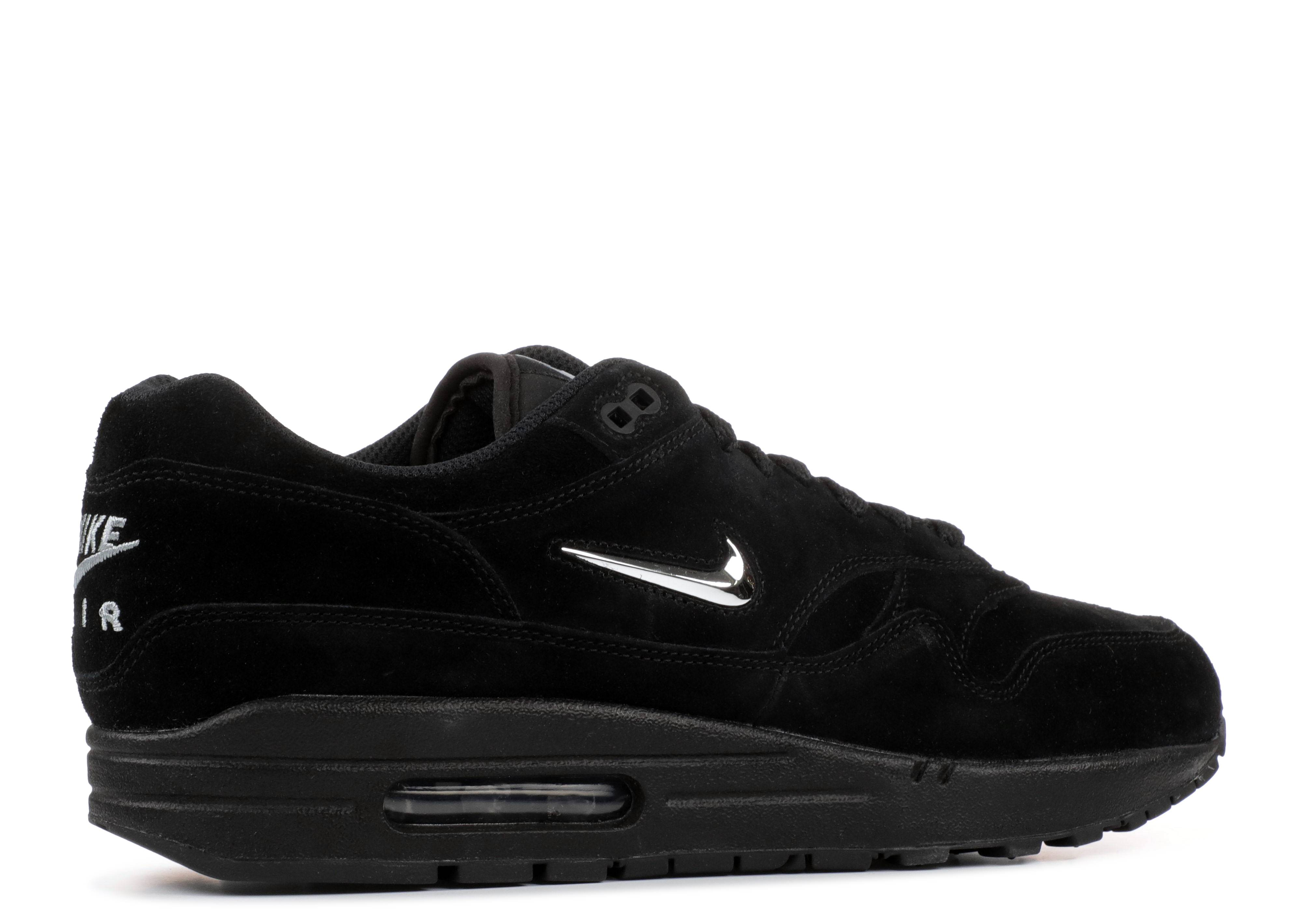 best cheap 97002 21e53 Air Max 1 Premium Sc - Nike - 918354 005 - black chrome-black   Flight Club
