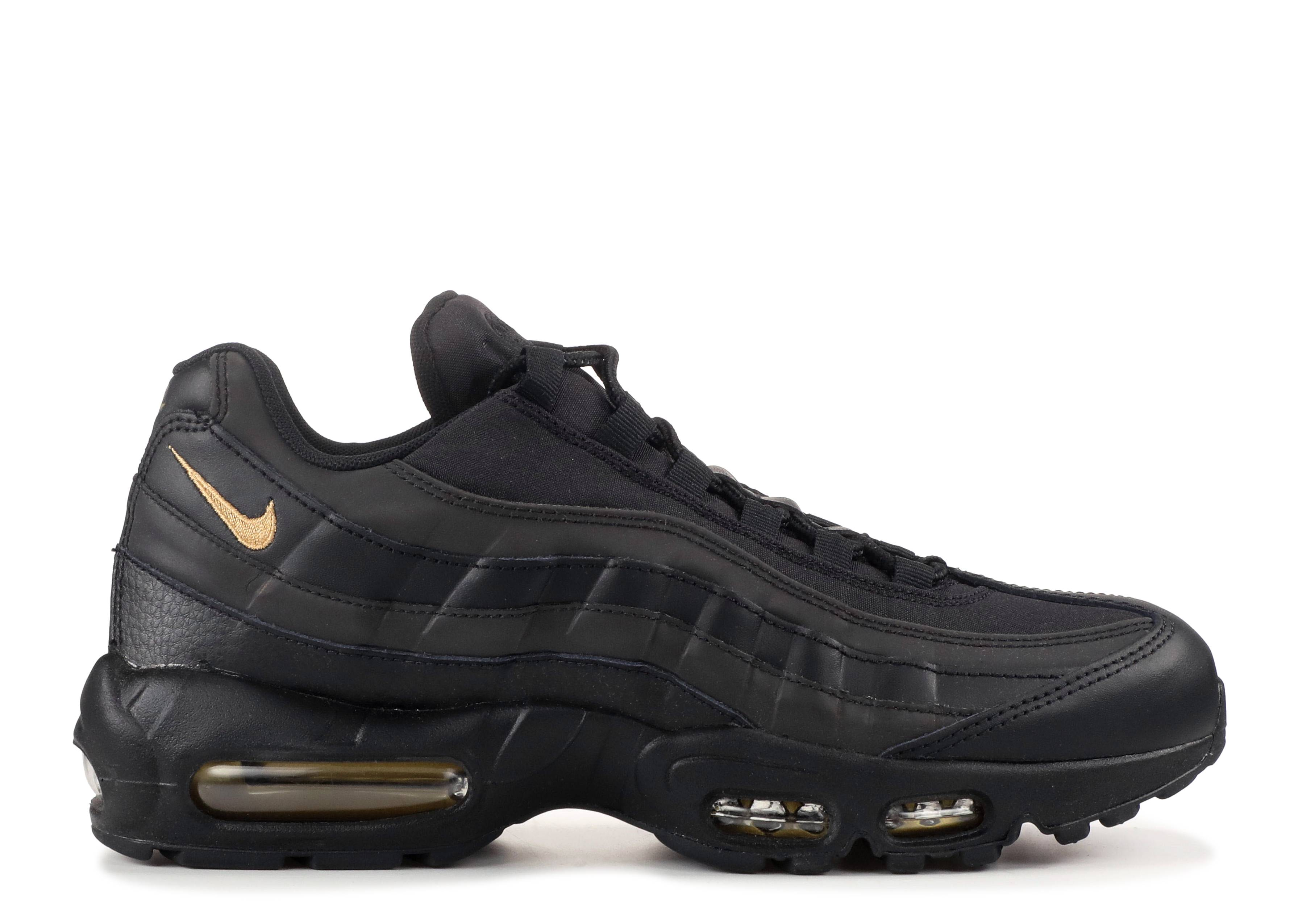 Nike Air Max 95 Premium SE Black Gold 924478 003