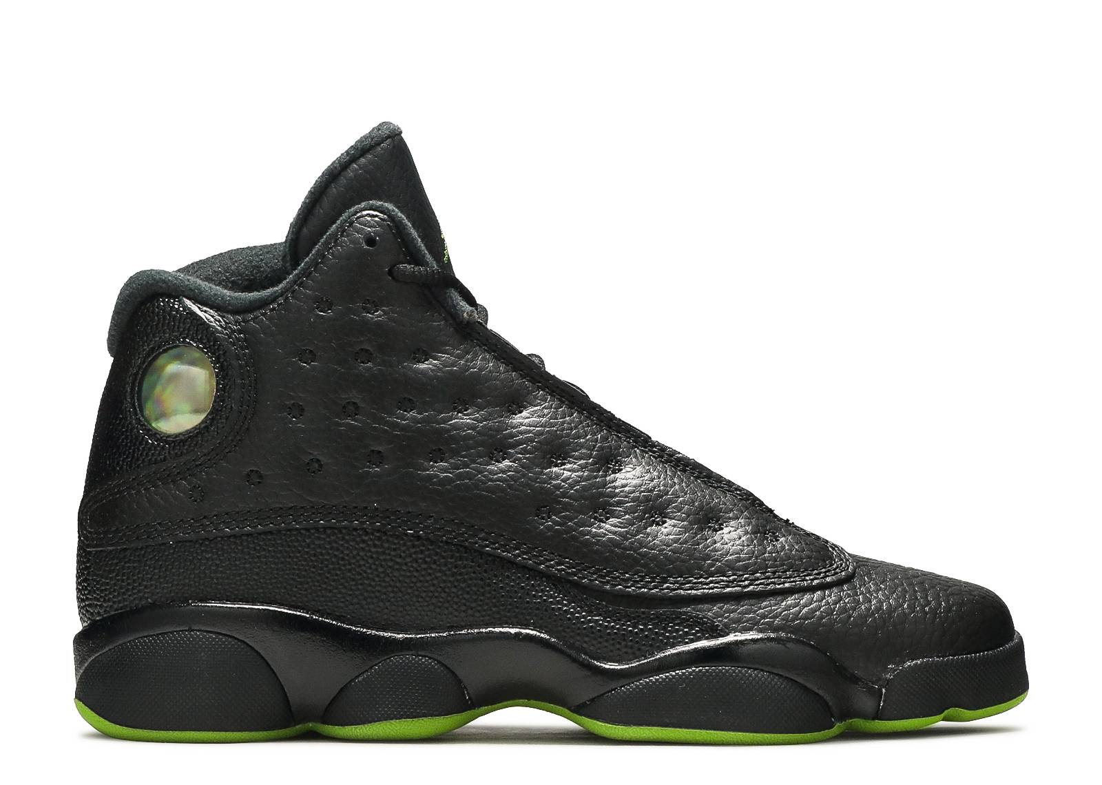 "air jordan 13 retro bg (gs) ""altitude green"""