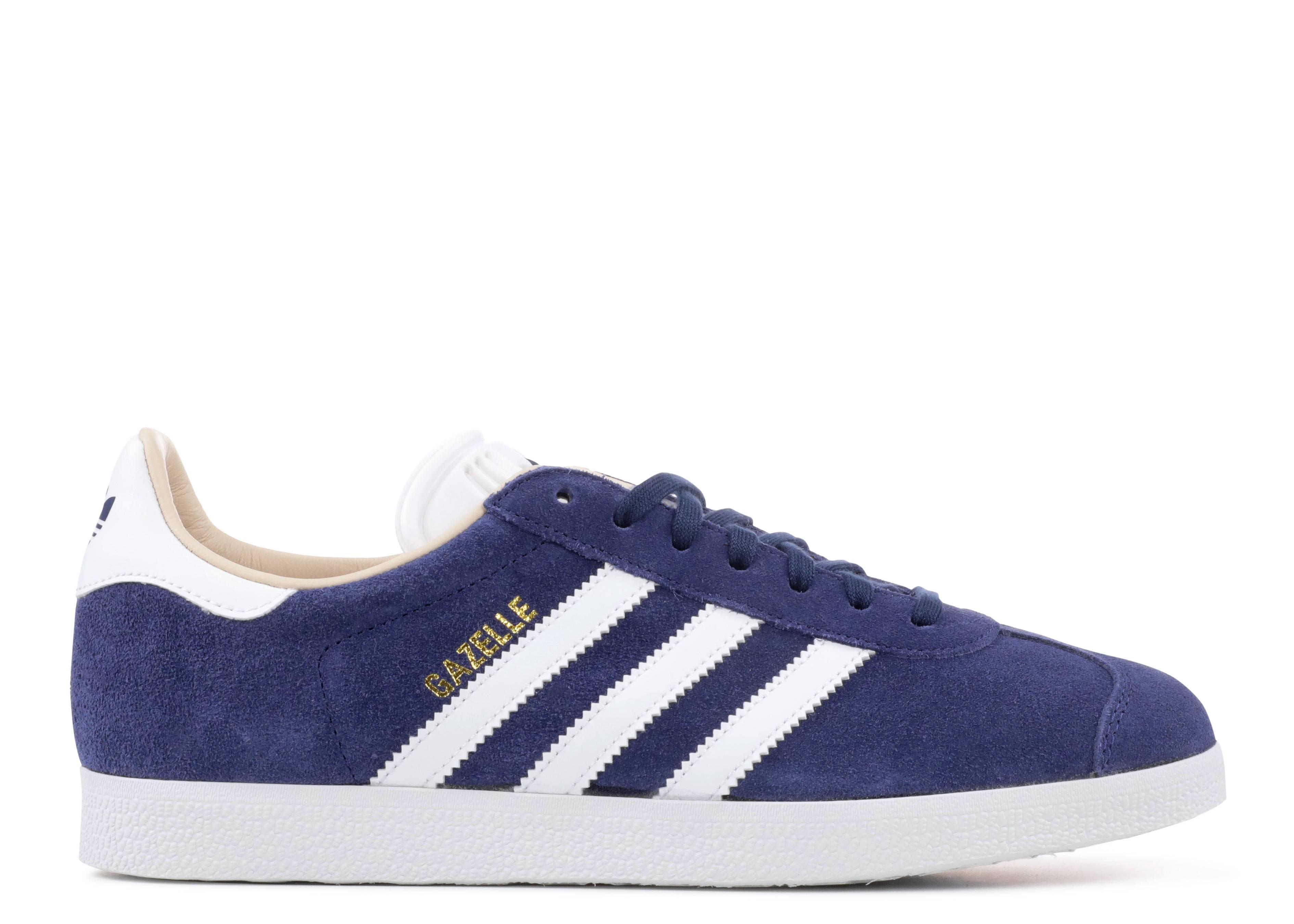 adidas Gazelle - Sneaker für Damen - Blau (nobind/ftwwht/linen) sLP8Akhhf