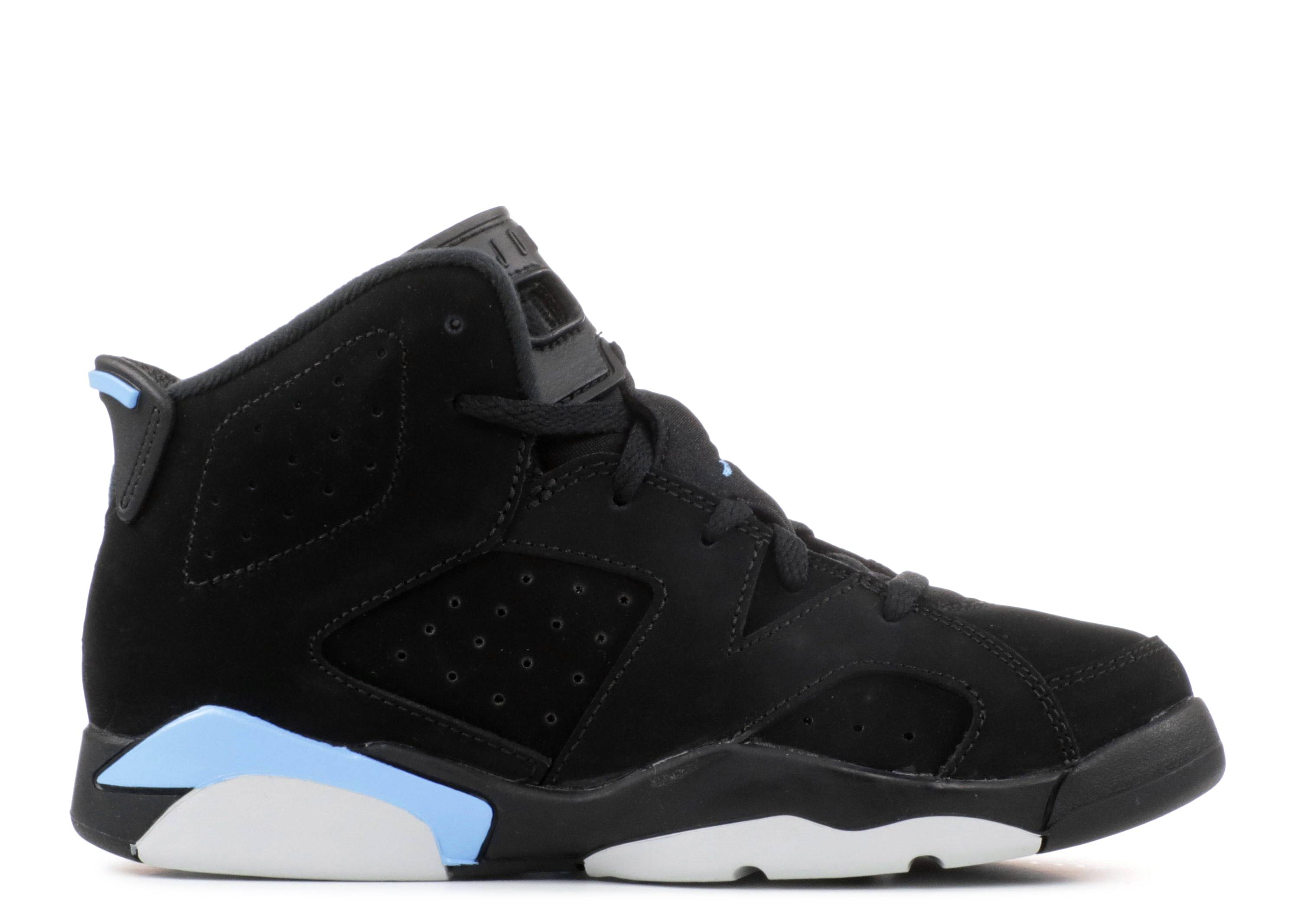 2c8d201c51f7 Jordan 6 Retro Bp - Air Jordan - 384666 006 - black university blue ...