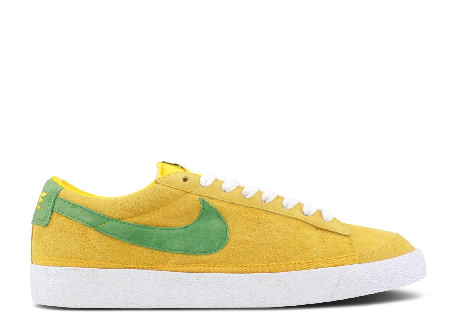 reputable site a1aad 86117 Nike Blazer Low - Nike - 305930 731 - green/yellow/white ...