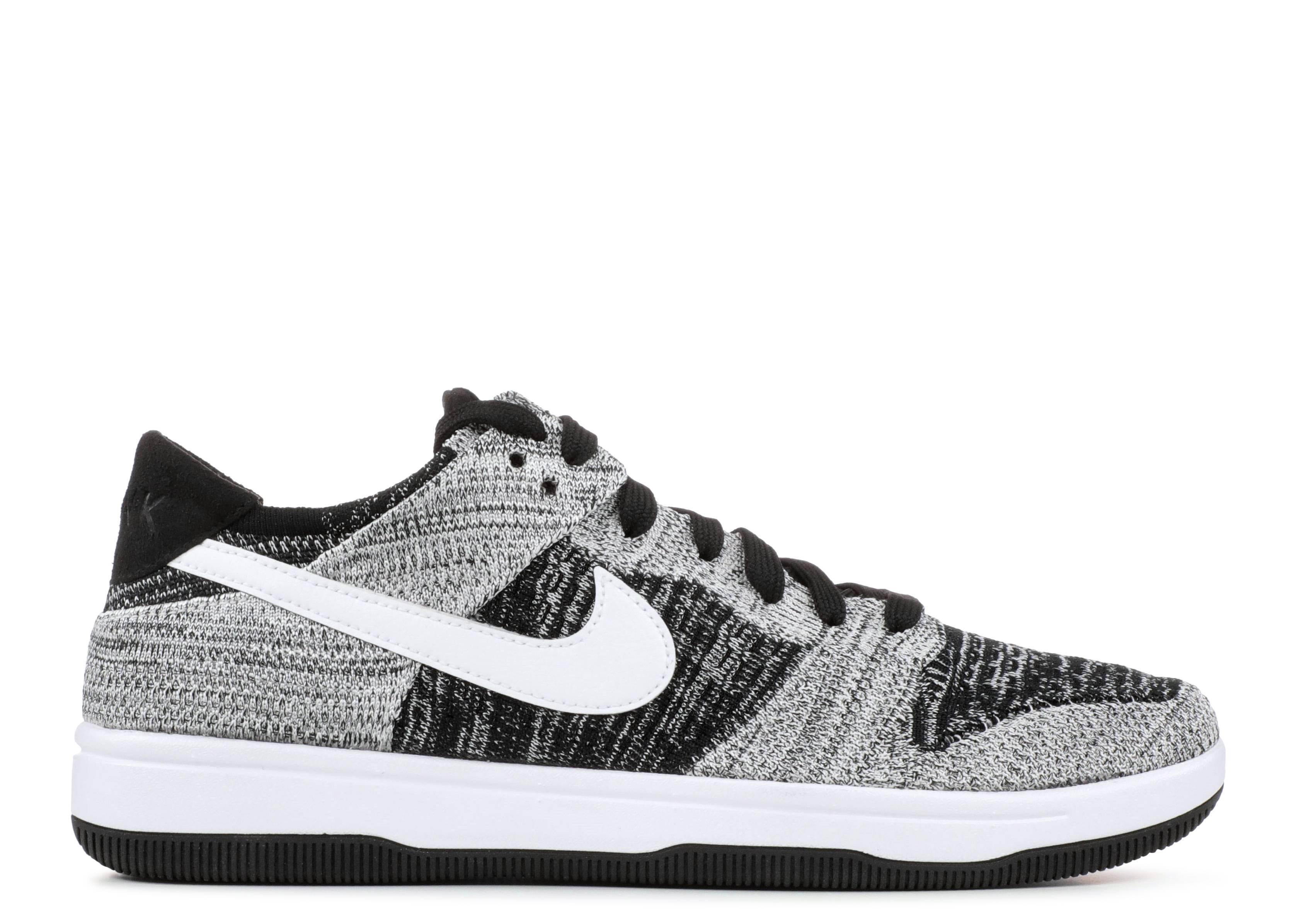 Dunk Low Flyknit 'Oreo' - Nike - 917746
