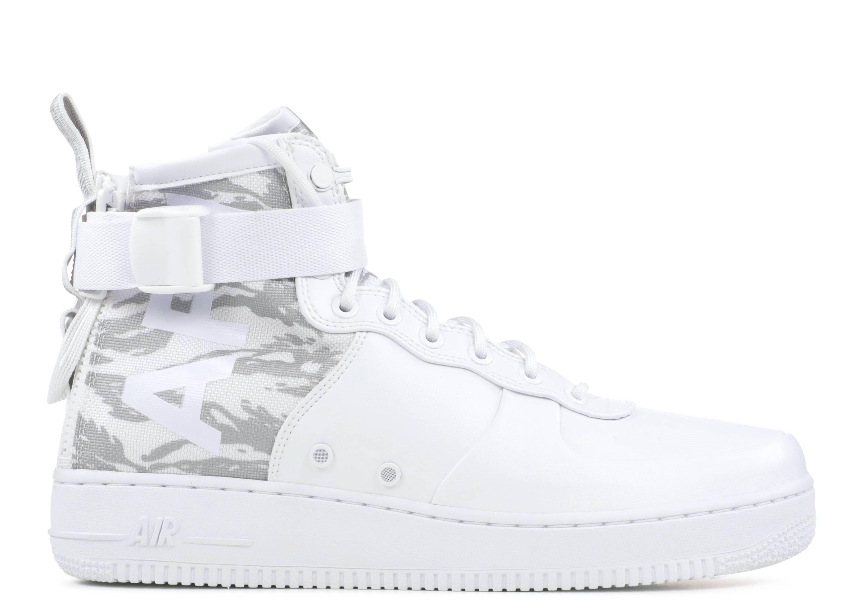 Sf Af1 Mid Prm - Nike - AA1129 100 - white white-cargo khaki   Flight Club 0b9b2e7f1d27