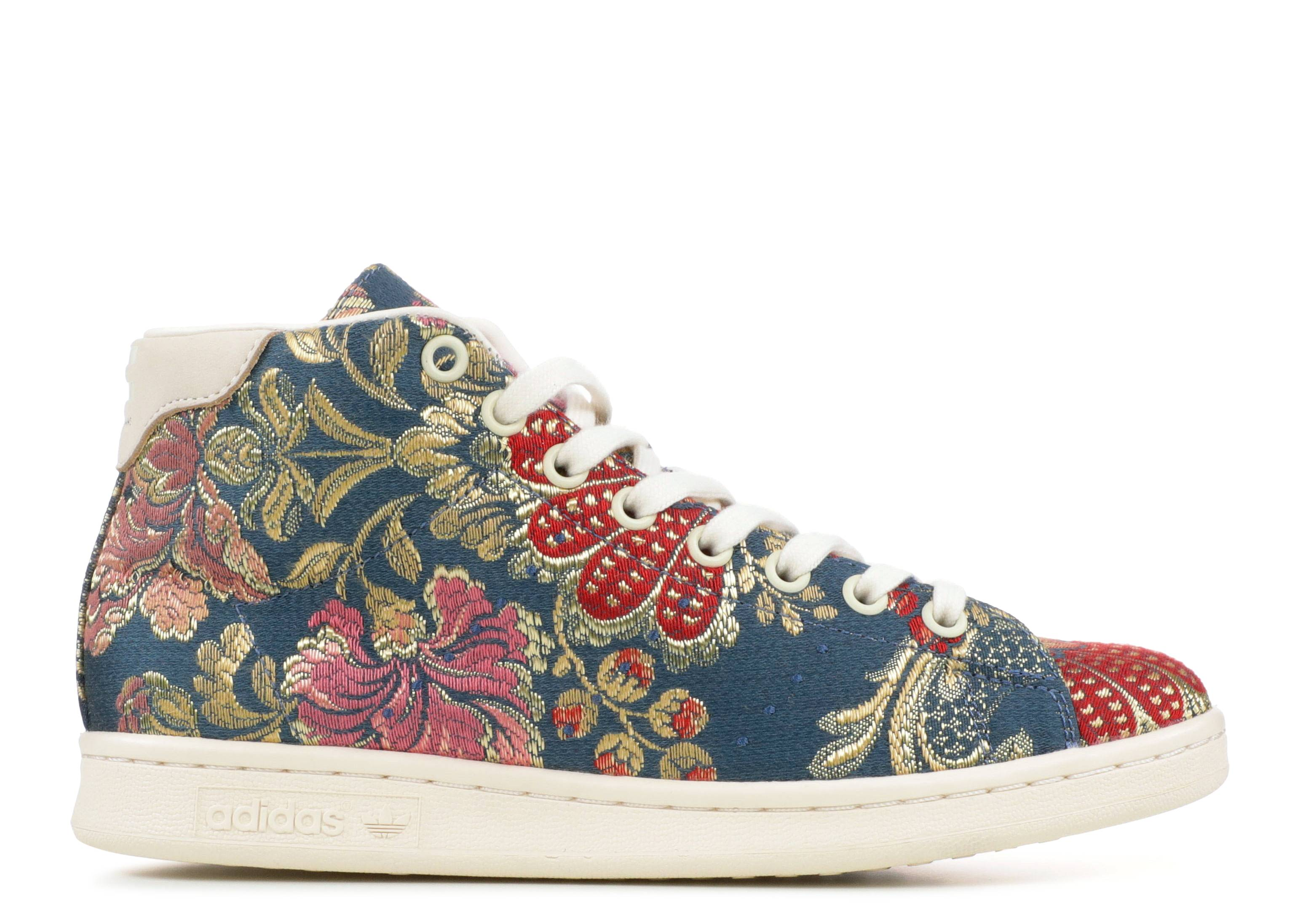 stan smith mid jacquard