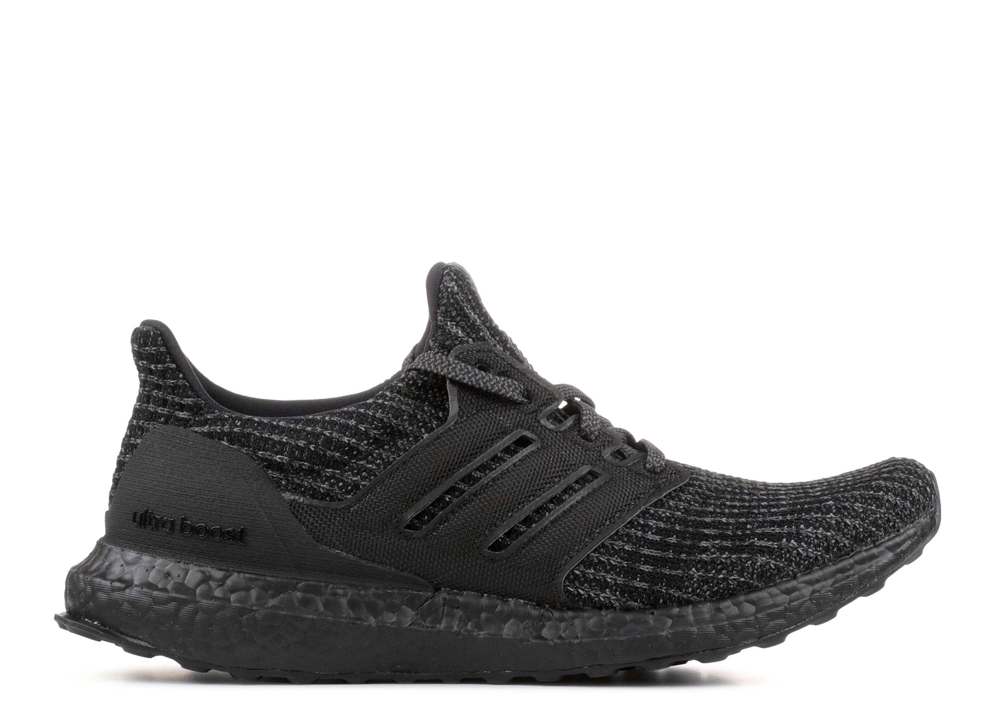"ultra boost 4.0 ""triple black"""