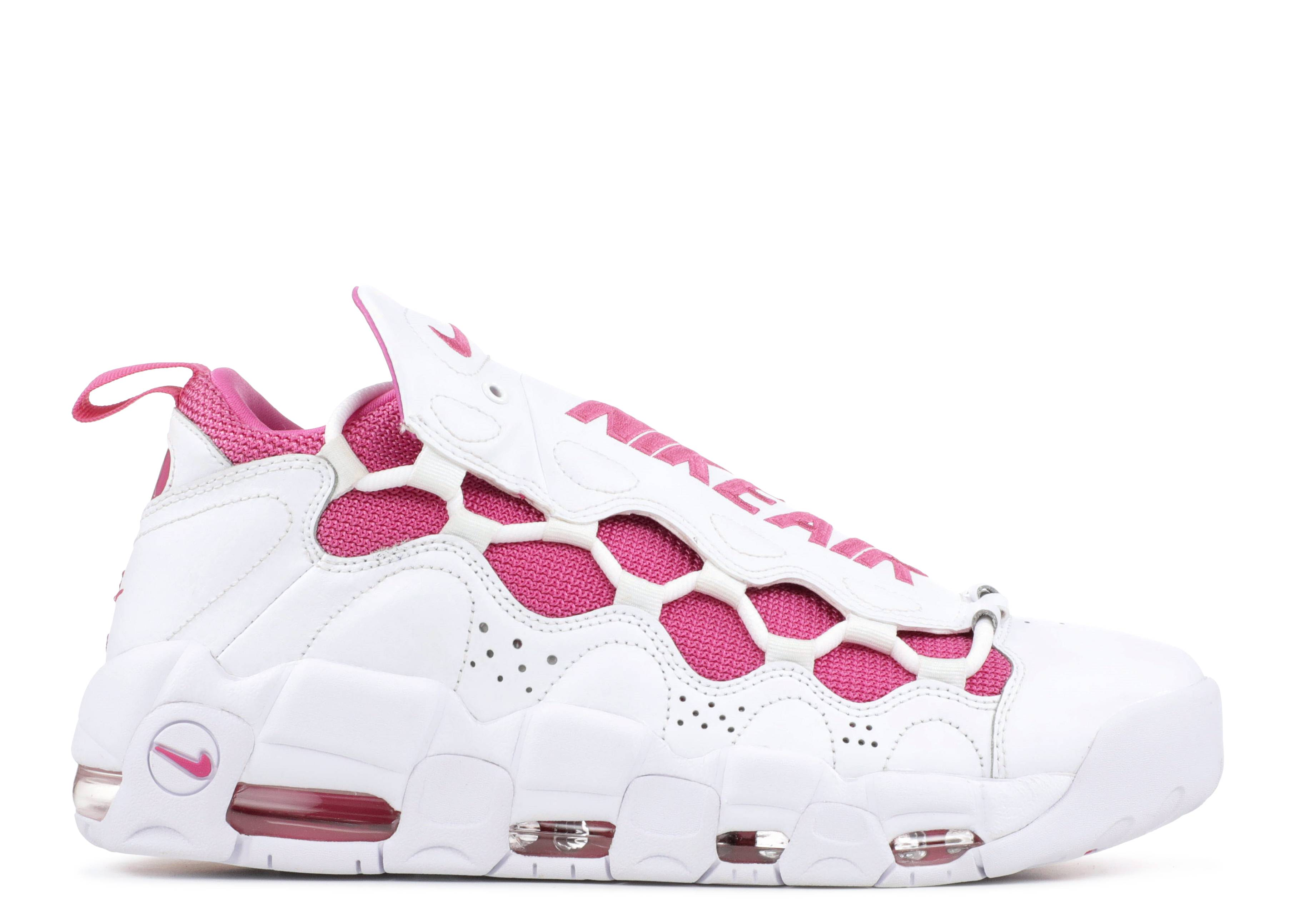 """air more money qs x sneaker room """"breast cancer awareness"""""""