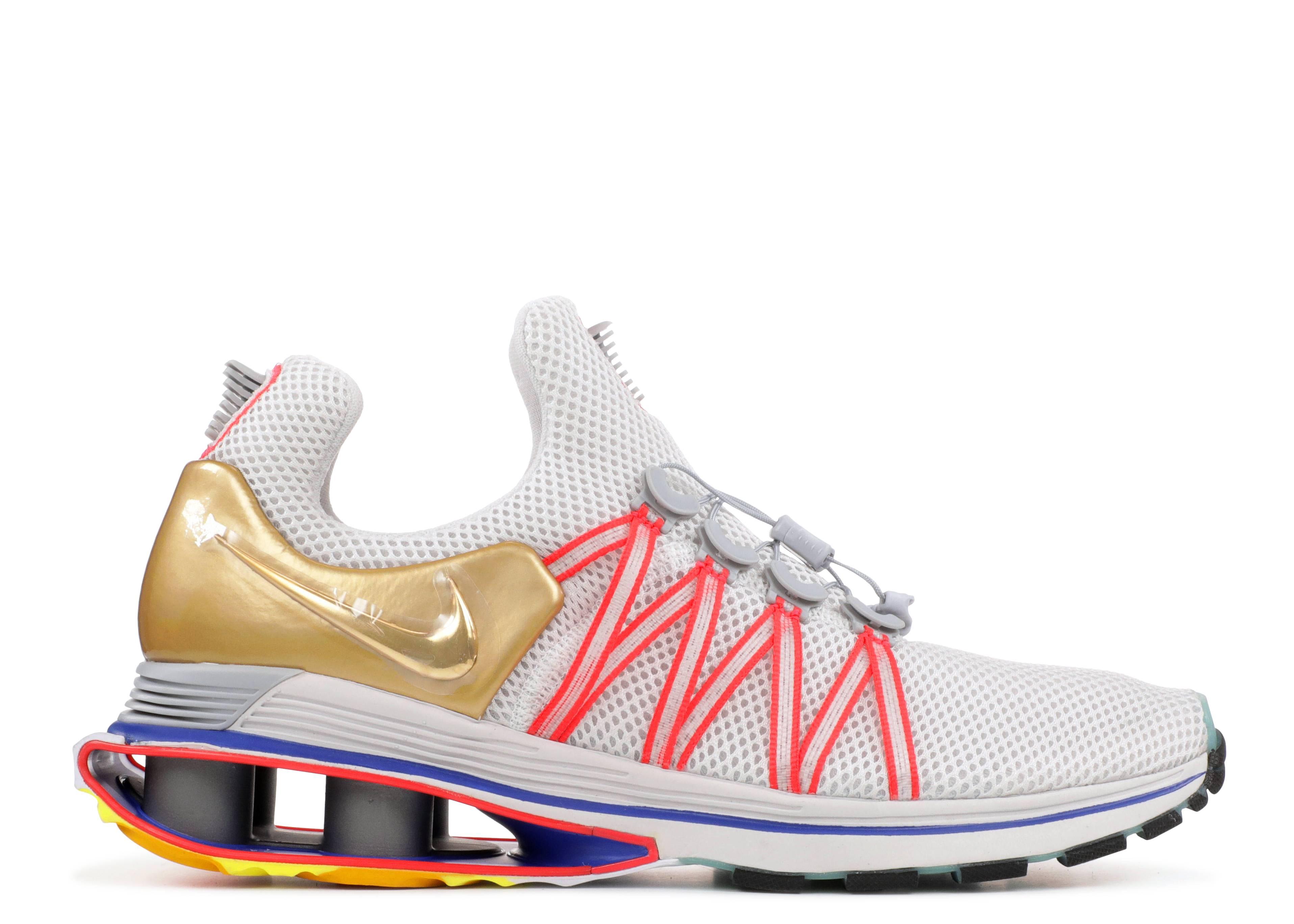 "Nike Shox Gravity ""metallic gold"""