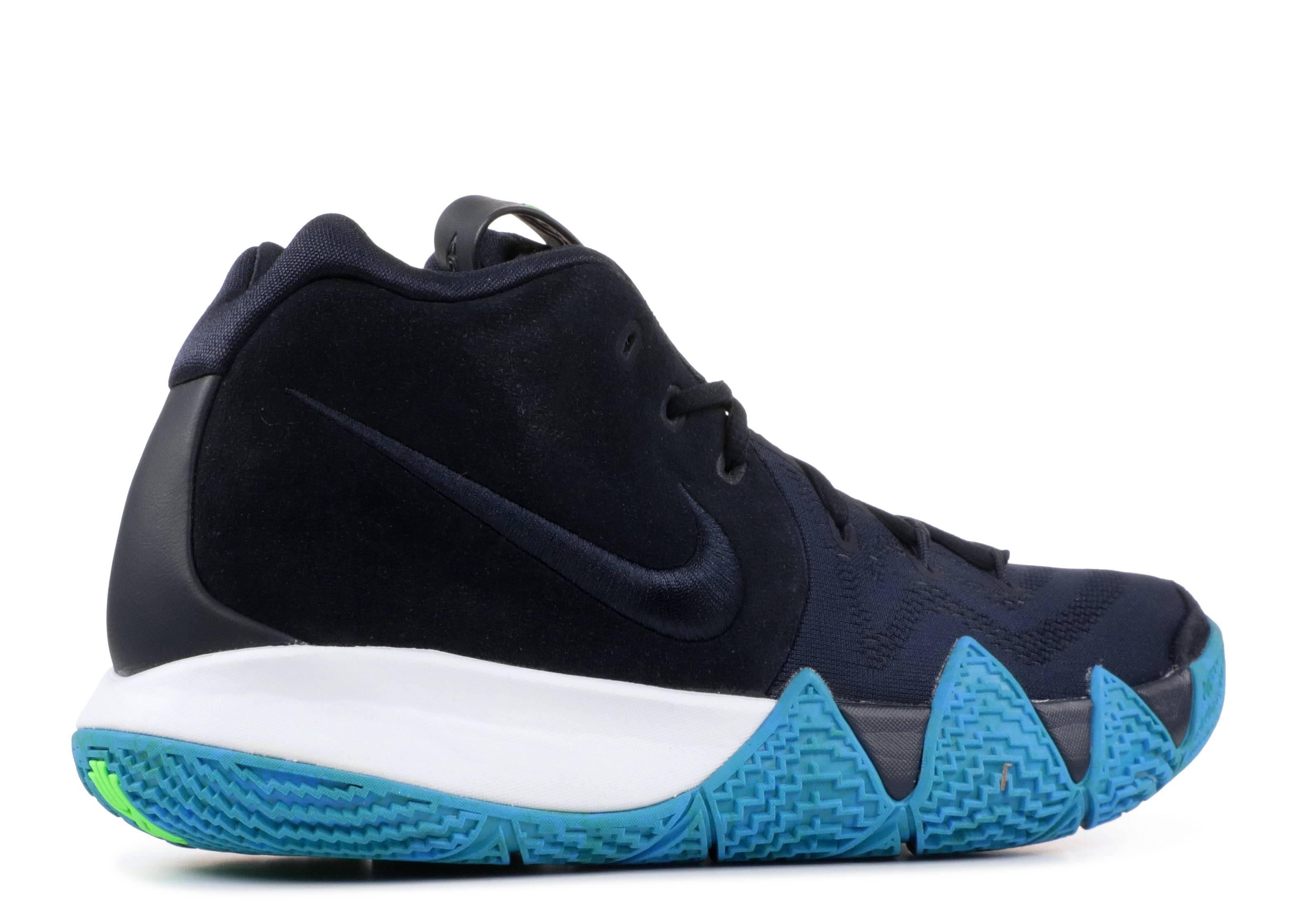 official photos f1e18 ba8ed Kyrie 4 - Nike - 943806 401 - dark obsidian black   Flight Club