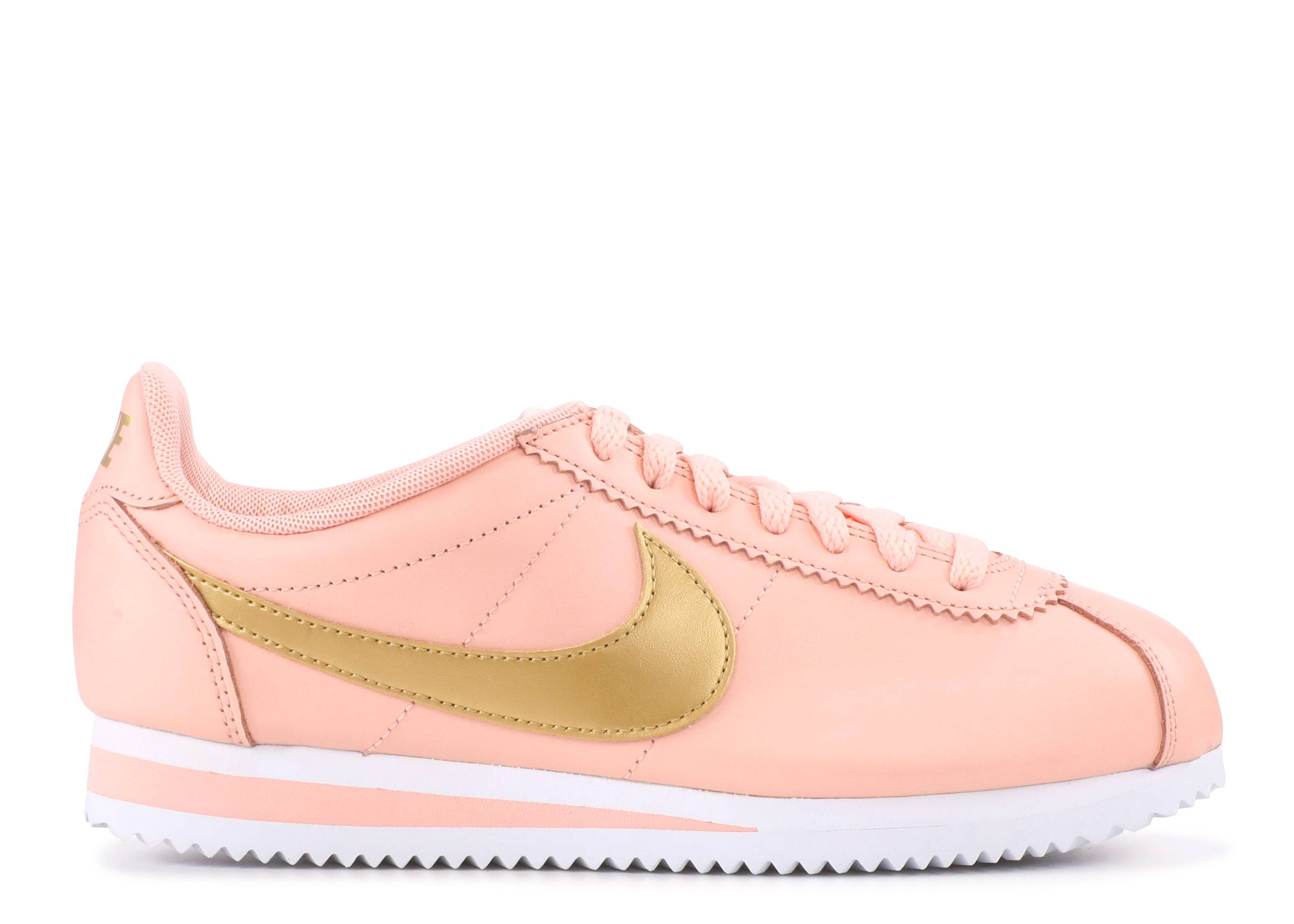 super popular 06399 85ad8 Wmns Classic Cortez Leather - Nike - 807471 800 - artic orange   metallic  gold   Flight Club