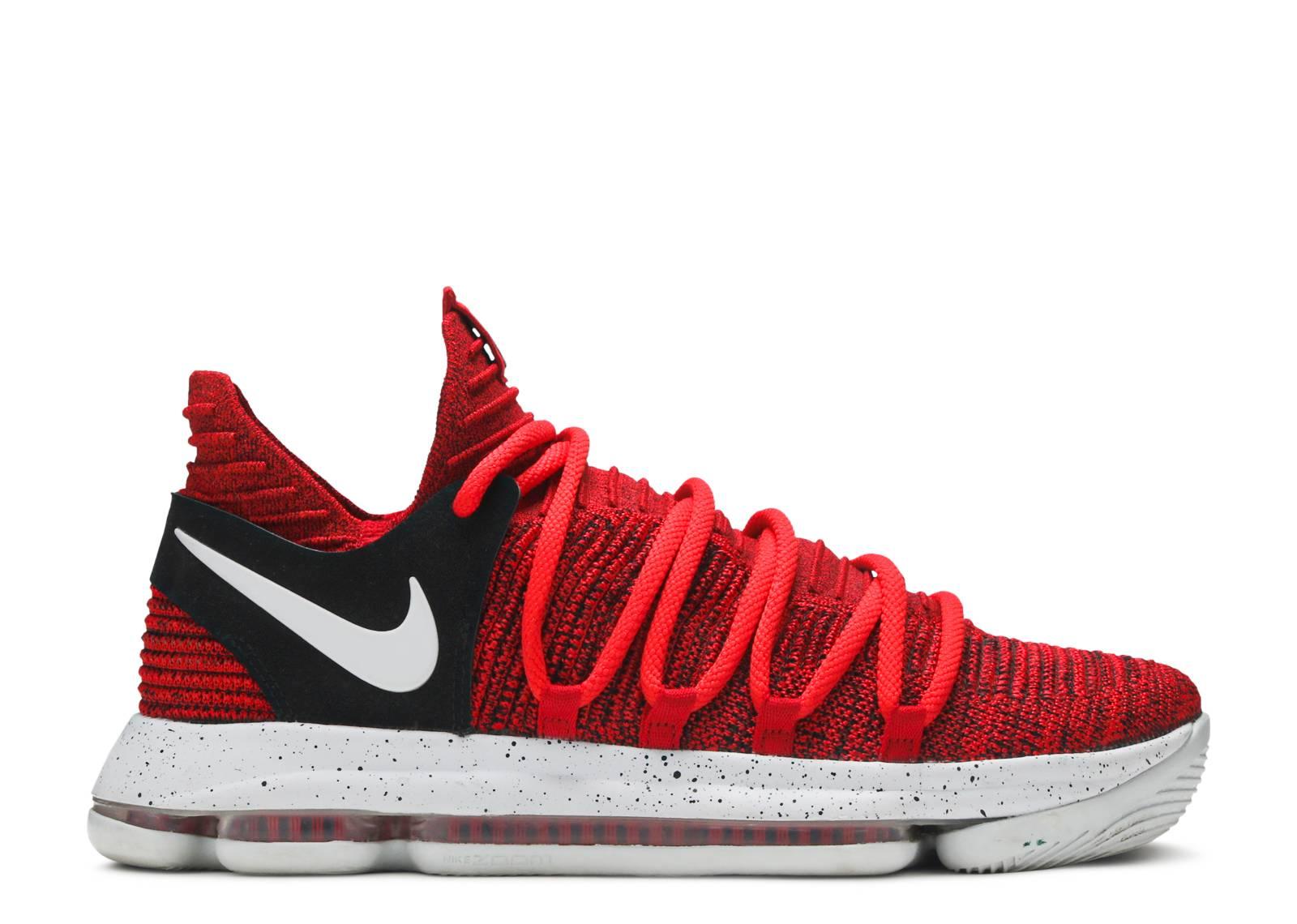 sale retailer 538f5 559cb Nike Zoom Kd10 - Nike - 897815 600 - university red pure platinum ...