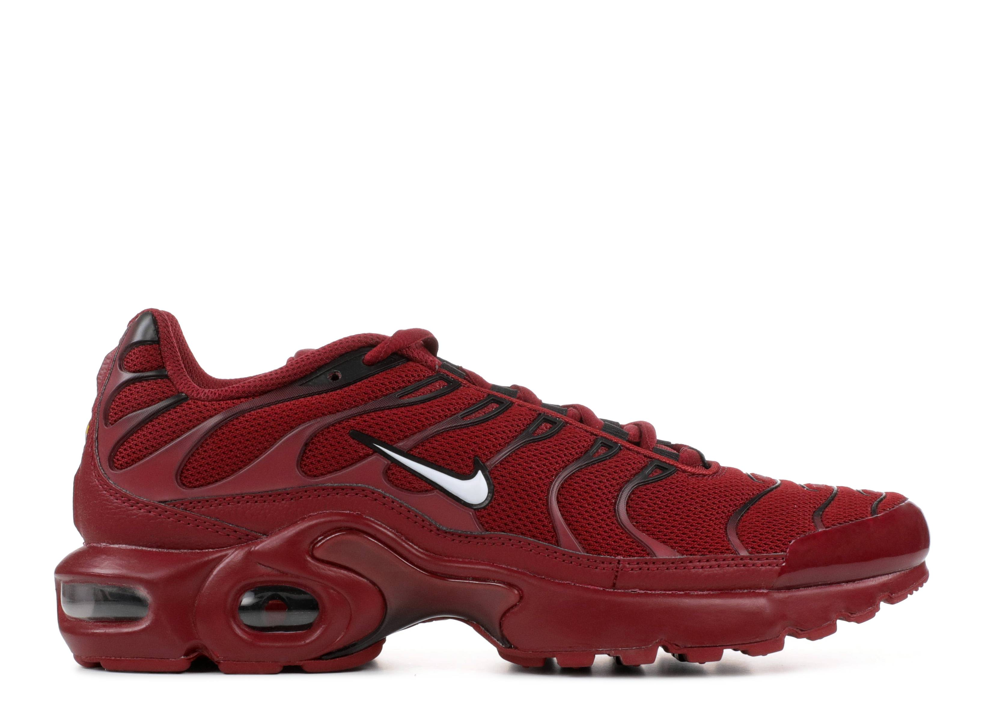 7395cb5c02da10 Air Max Plus (GS) - Nike - 655020 603 - team red white-black ...