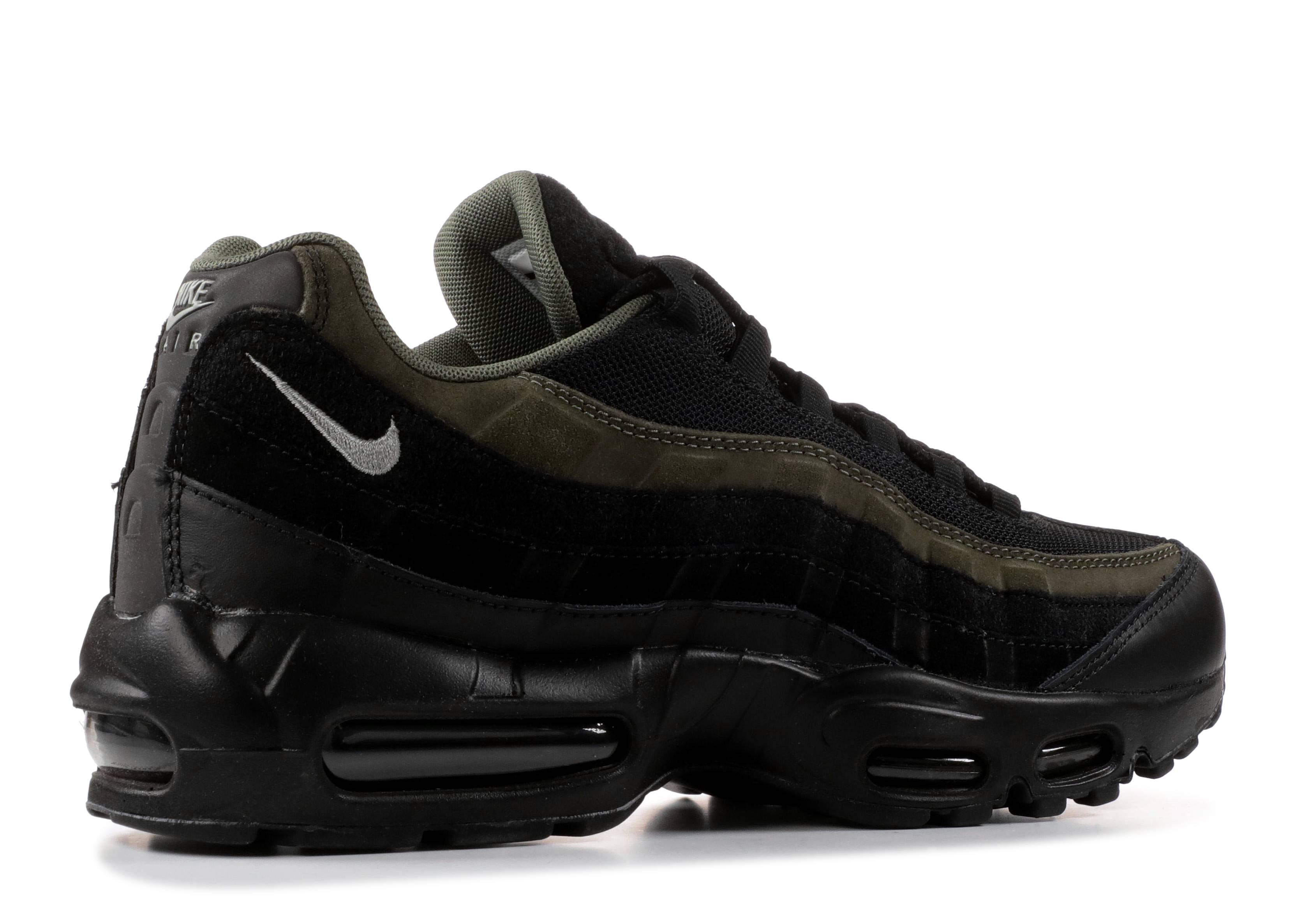 0e05fc542b2c1a Air Max 95 HAL - Nike - ah8444 001 - black black-cargo khaki ...