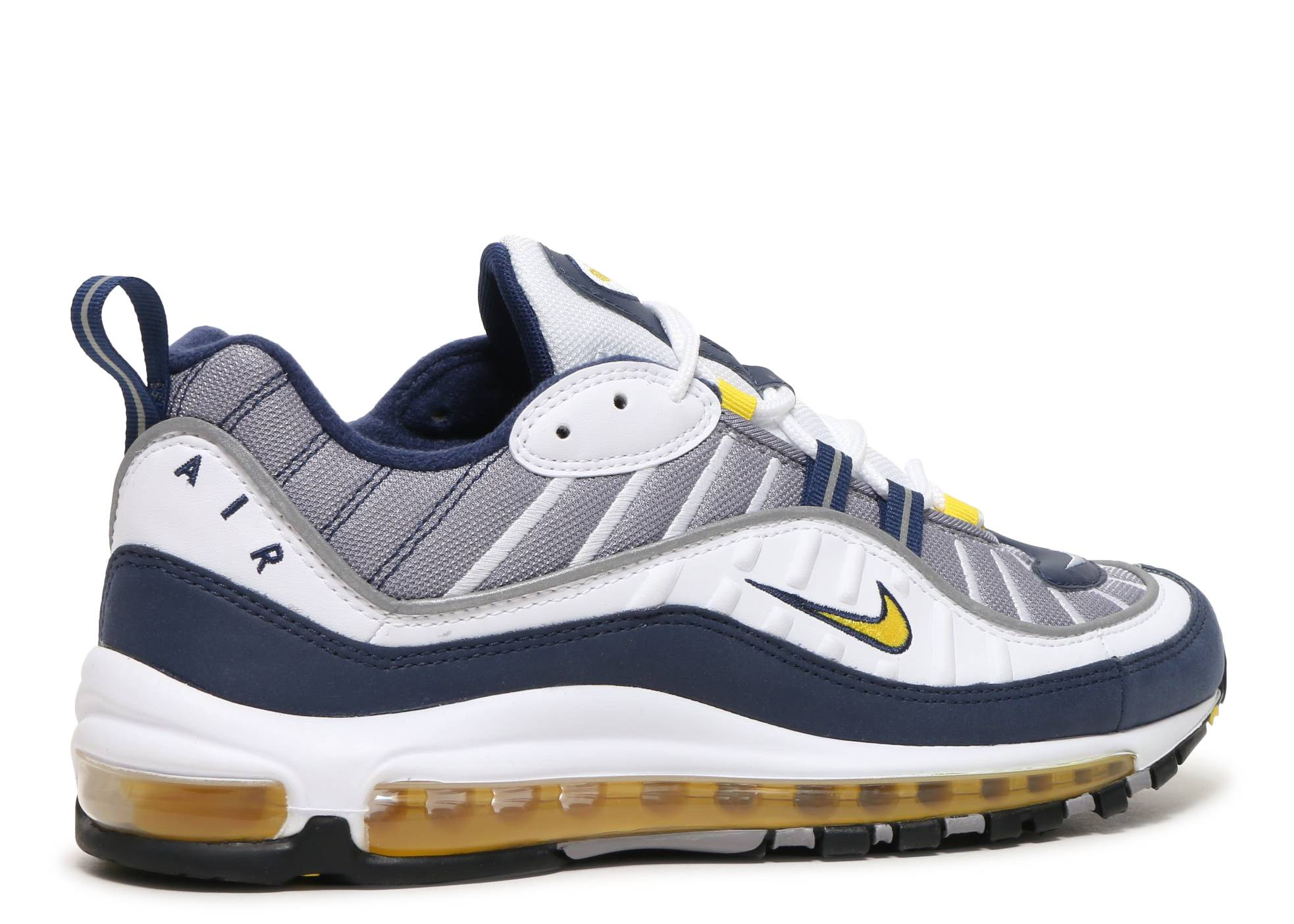 67c560e13b0e4d AIr Max 98 - Nike - 640744 105 - white tour yellow-midnight navy-cement grey