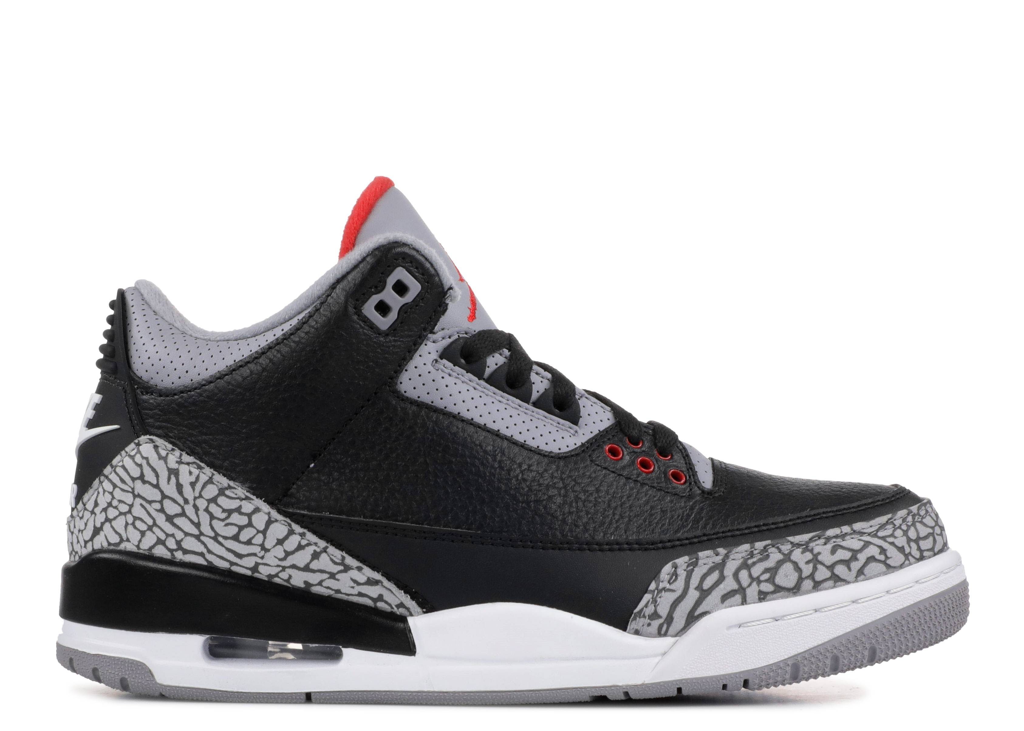 "air jordan 3 retro og ""black cement """