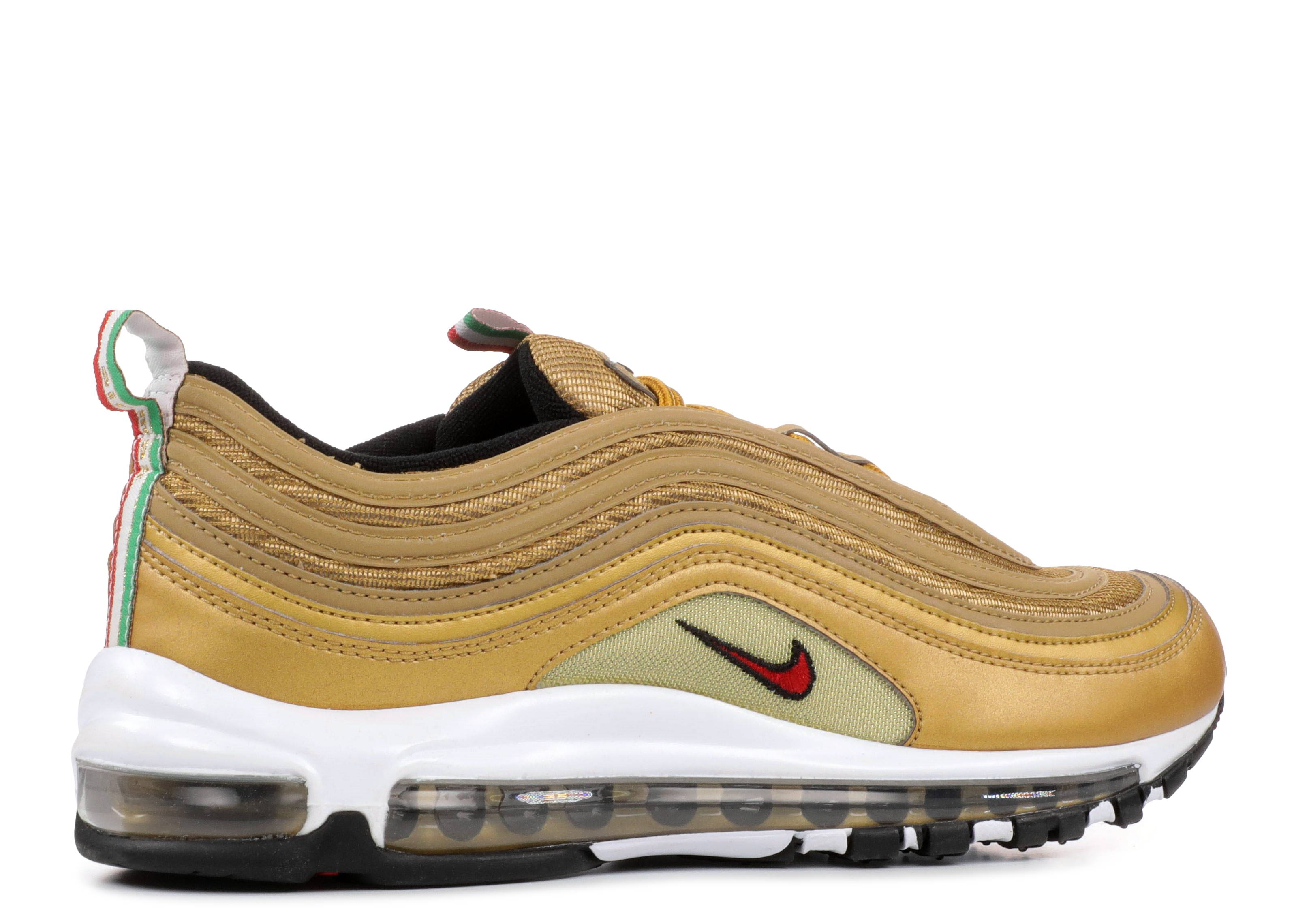 Nike Air Max 97 Metallic Gold It Italy Aj8056 700